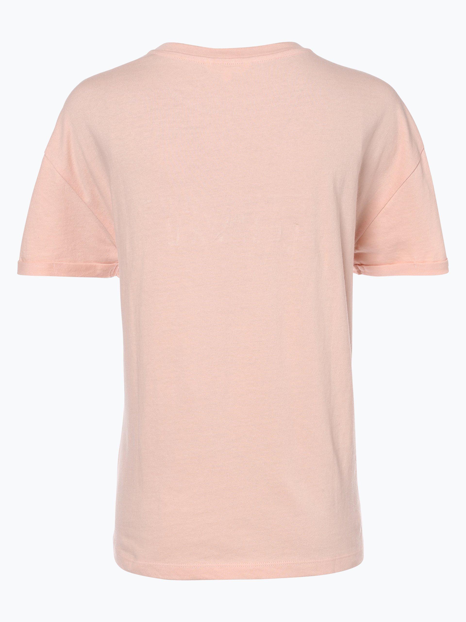 review damen t shirt rosa gemustert online kaufen peek. Black Bedroom Furniture Sets. Home Design Ideas