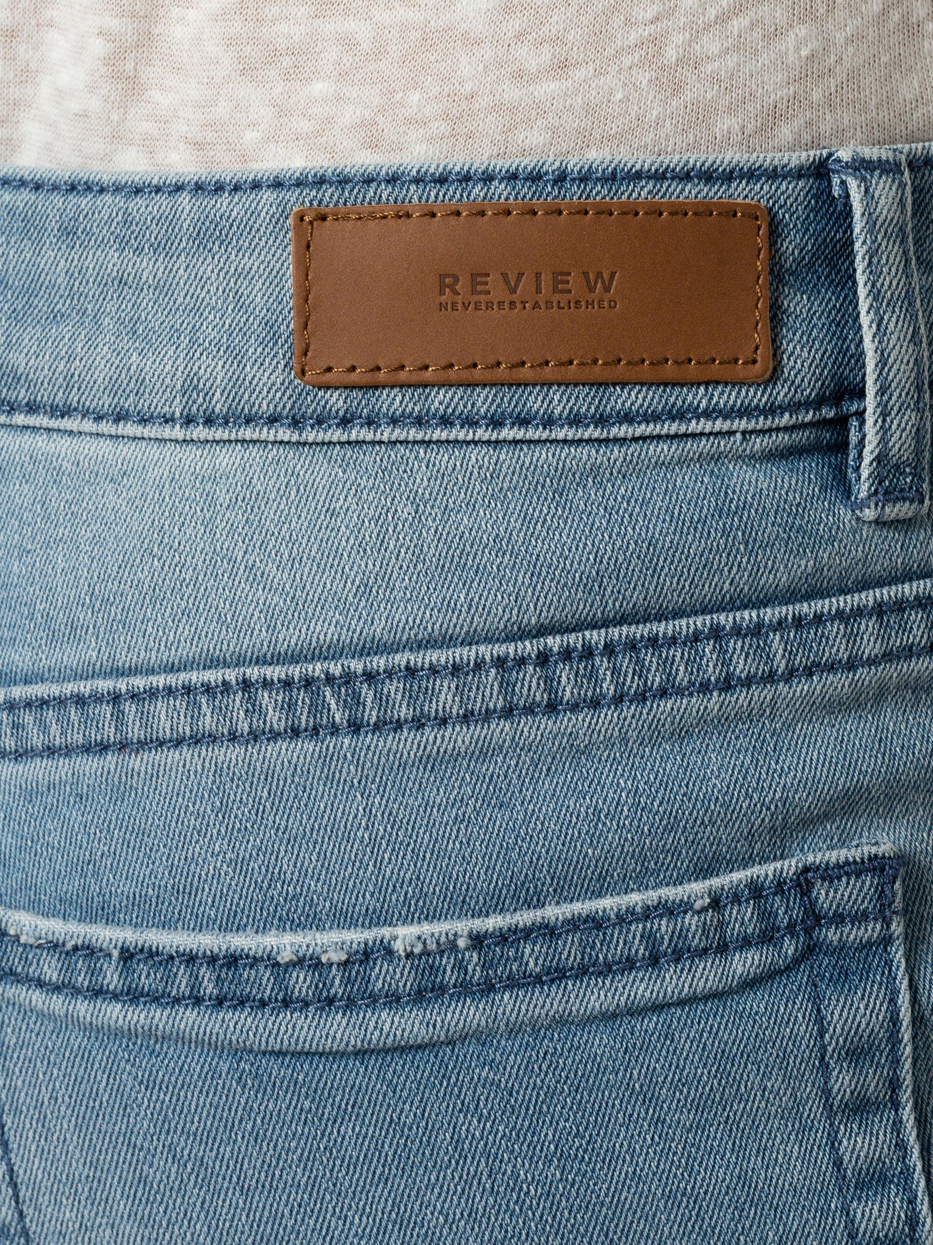Review Damskie krótkie spodenki jeansowe