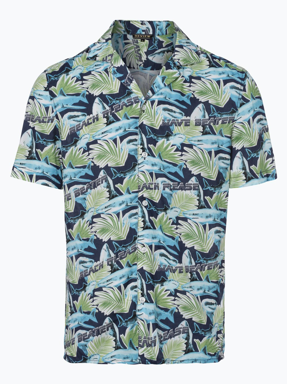5acbc1e91e33 Review Herren Hemd marine blau gemustert online kaufen   PEEK-UND ...