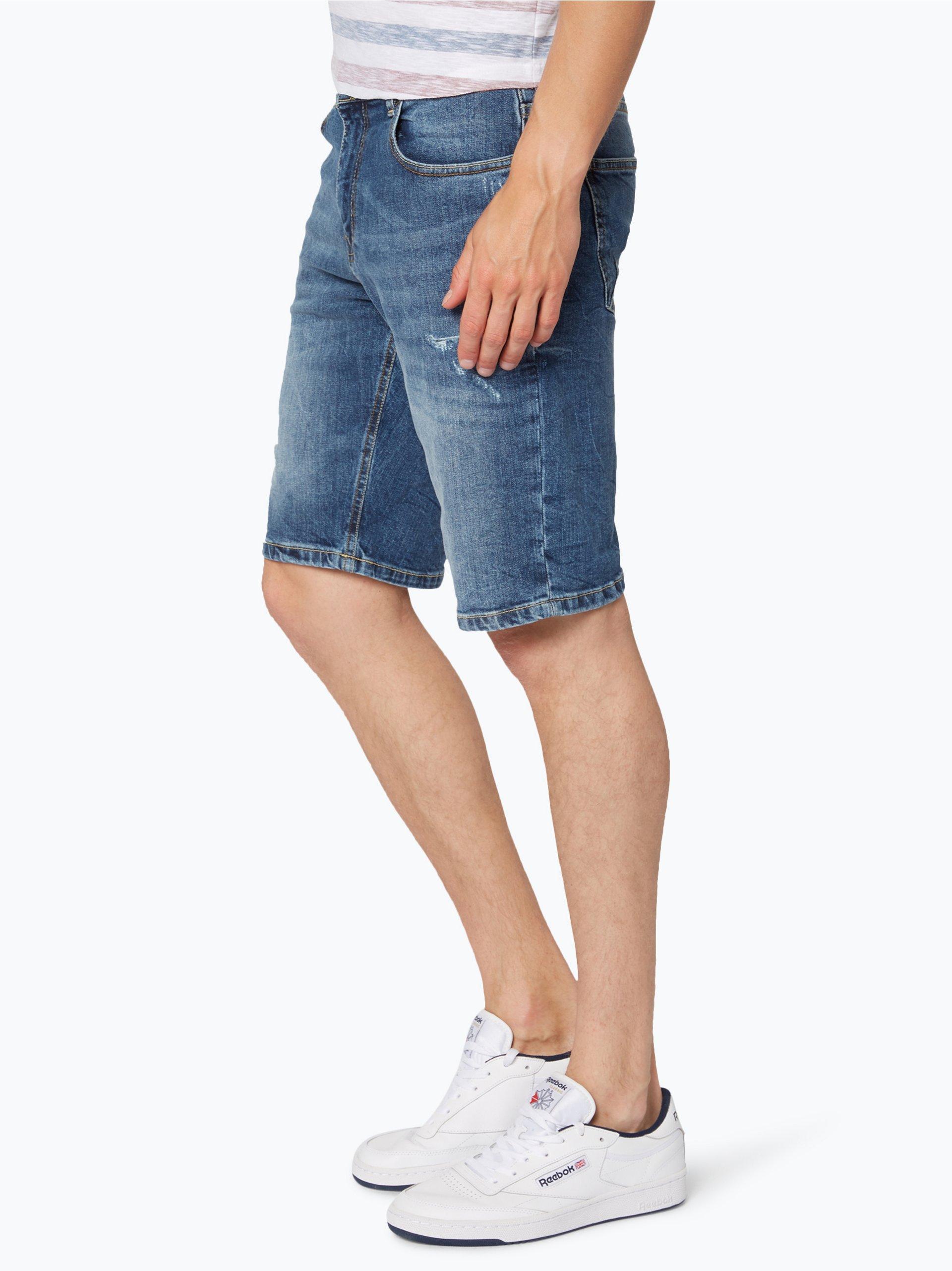 review herren jeans bermuda blau uni online kaufen peek und cloppenburg de. Black Bedroom Furniture Sets. Home Design Ideas
