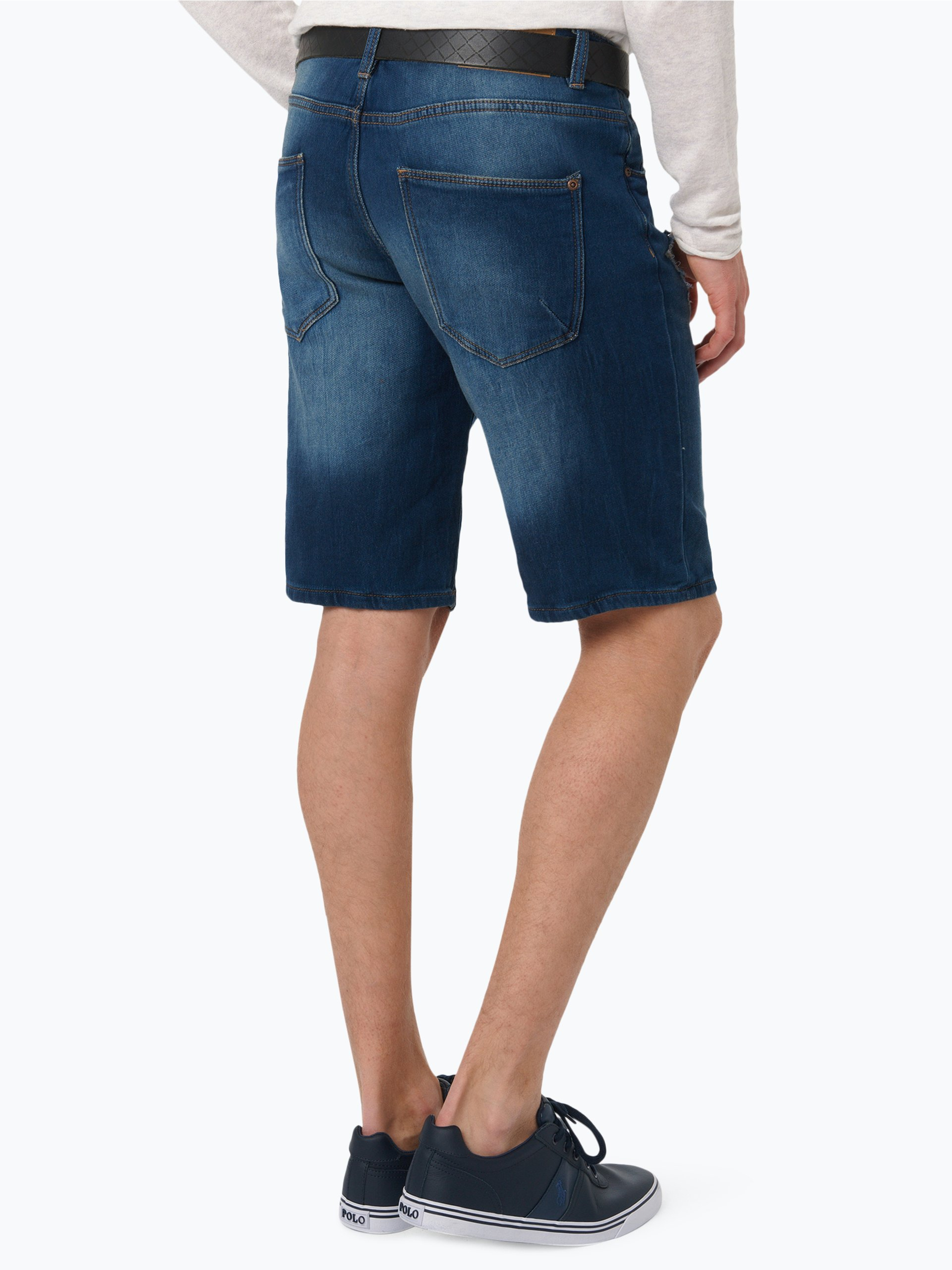review herren jeans bermuda hellblau blau uni online kaufen peek und cloppenburg de. Black Bedroom Furniture Sets. Home Design Ideas