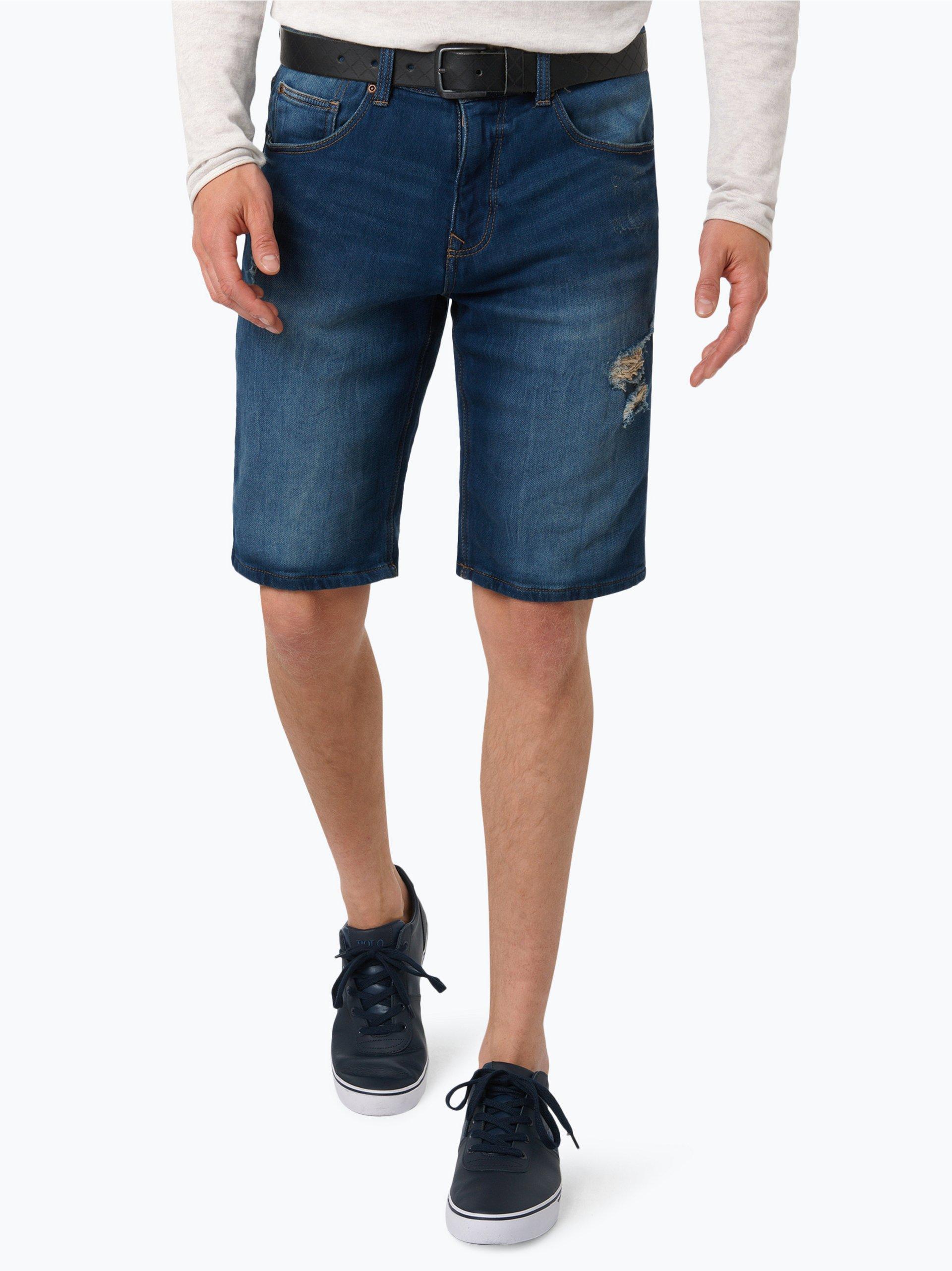 Review Herren Jeans-Bermuda