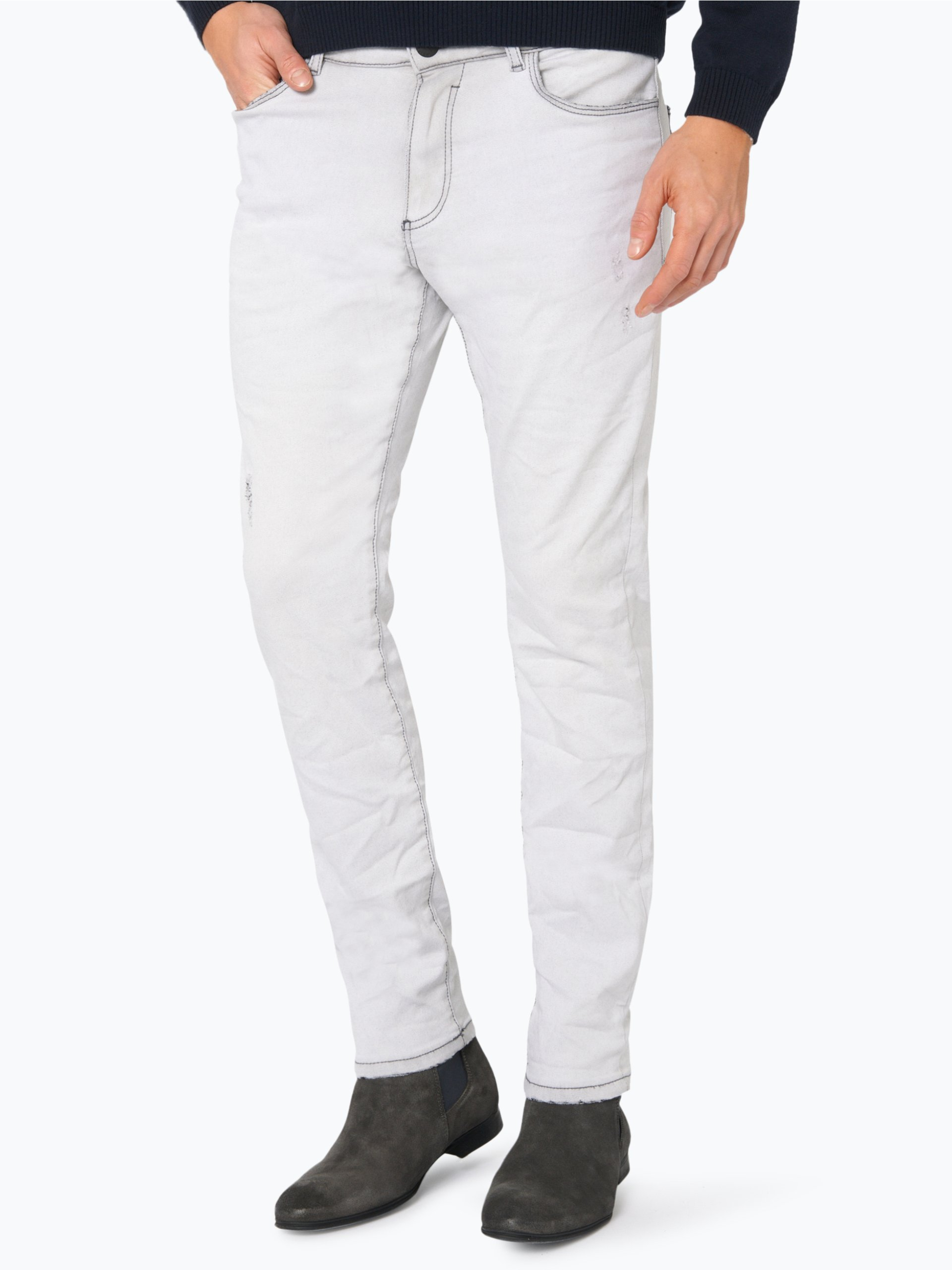 review herren jeans jeremy skinny wei uni online kaufen vangraaf com. Black Bedroom Furniture Sets. Home Design Ideas
