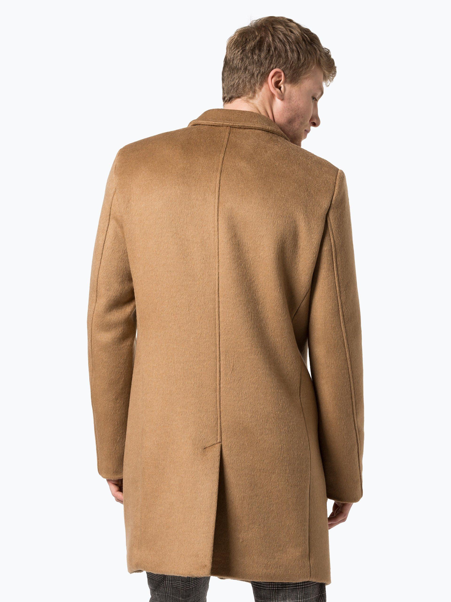review herren mantel camel uni online kaufen peek und. Black Bedroom Furniture Sets. Home Design Ideas