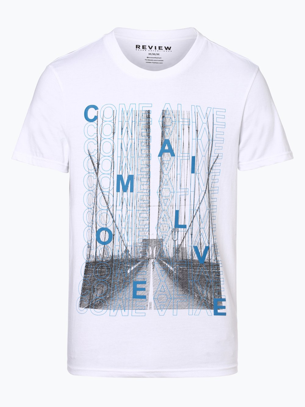 be975f3c3d1862 Review Herren T-Shirt weiß bedruckt online kaufen