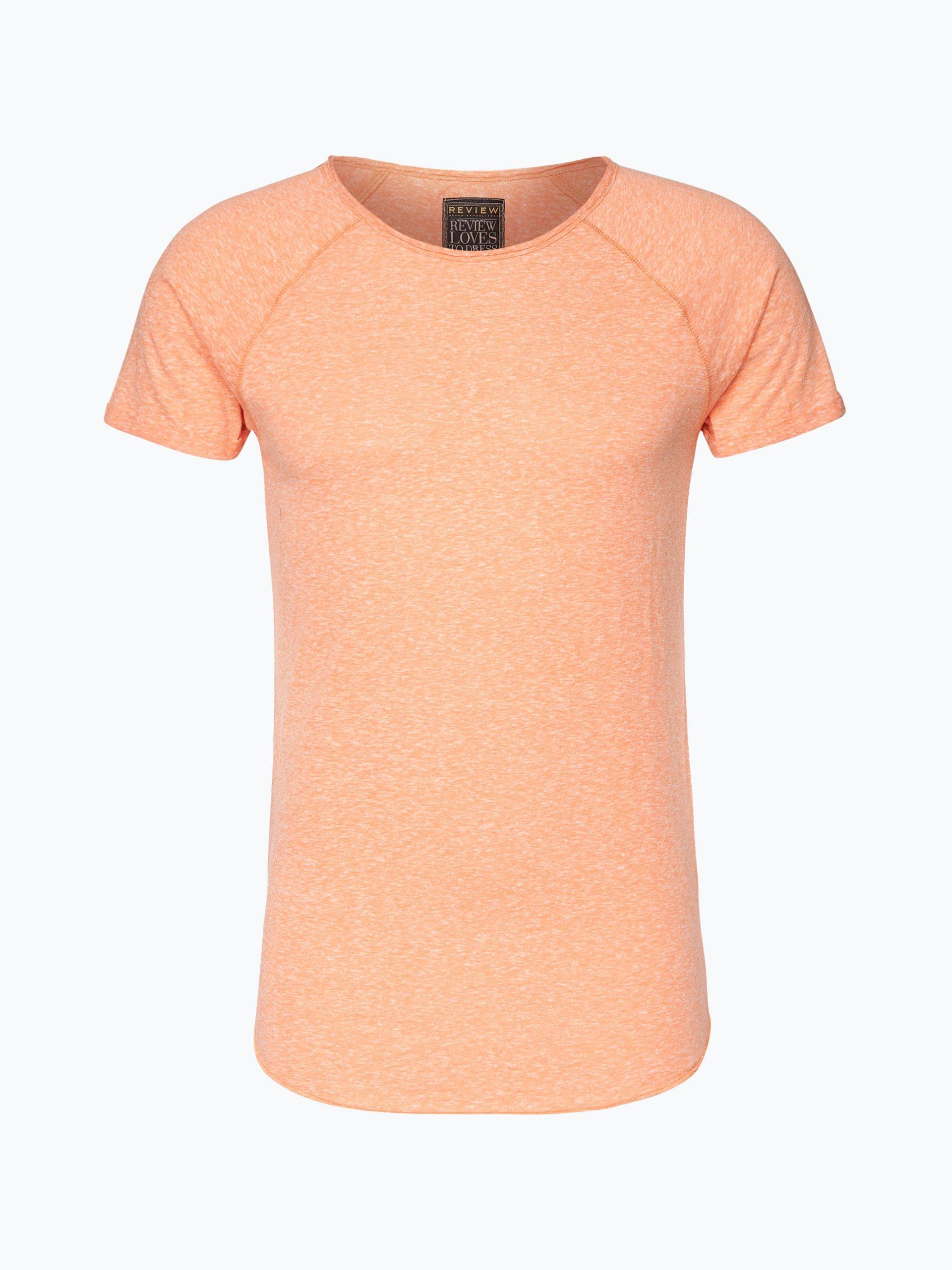 review herren t shirt orange uni online kaufen vangraaf com. Black Bedroom Furniture Sets. Home Design Ideas