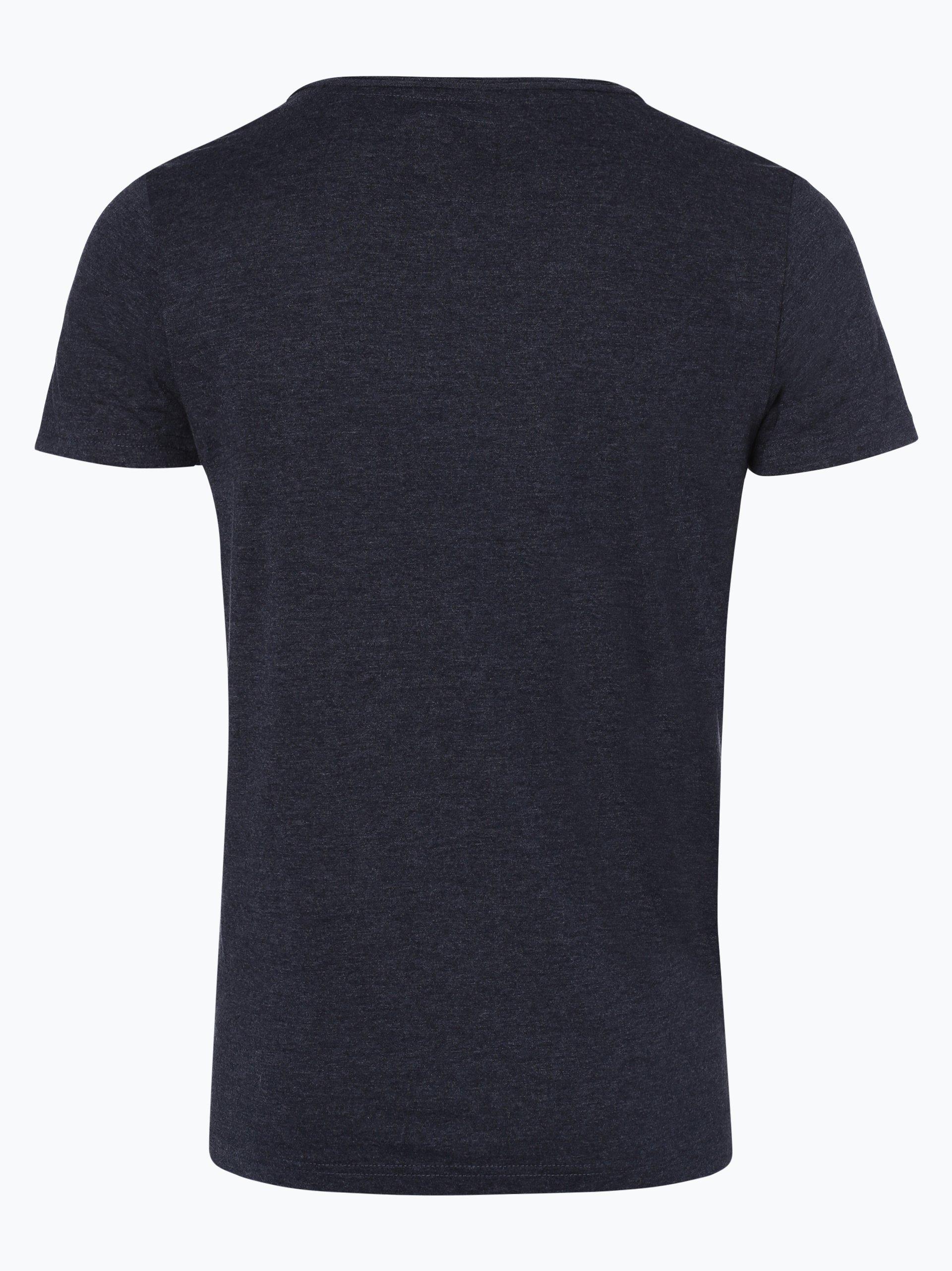 review herren t shirt marine uni online kaufen peek und. Black Bedroom Furniture Sets. Home Design Ideas
