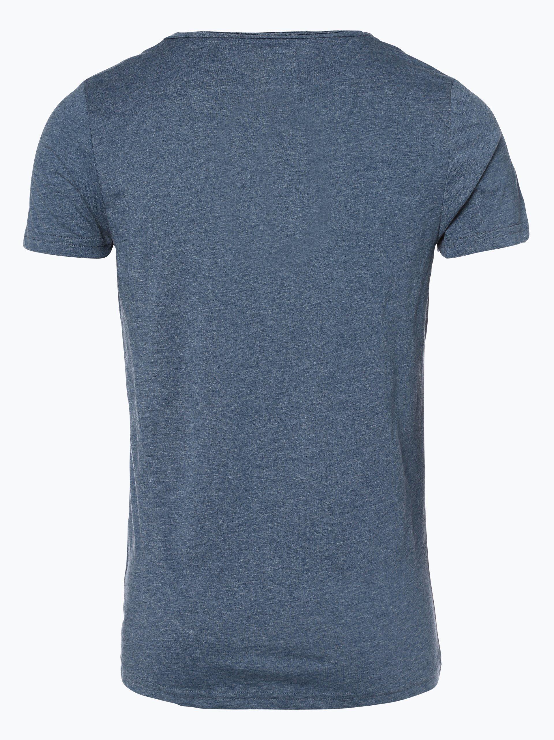 review herren t shirt denim uni online kaufen peek und. Black Bedroom Furniture Sets. Home Design Ideas