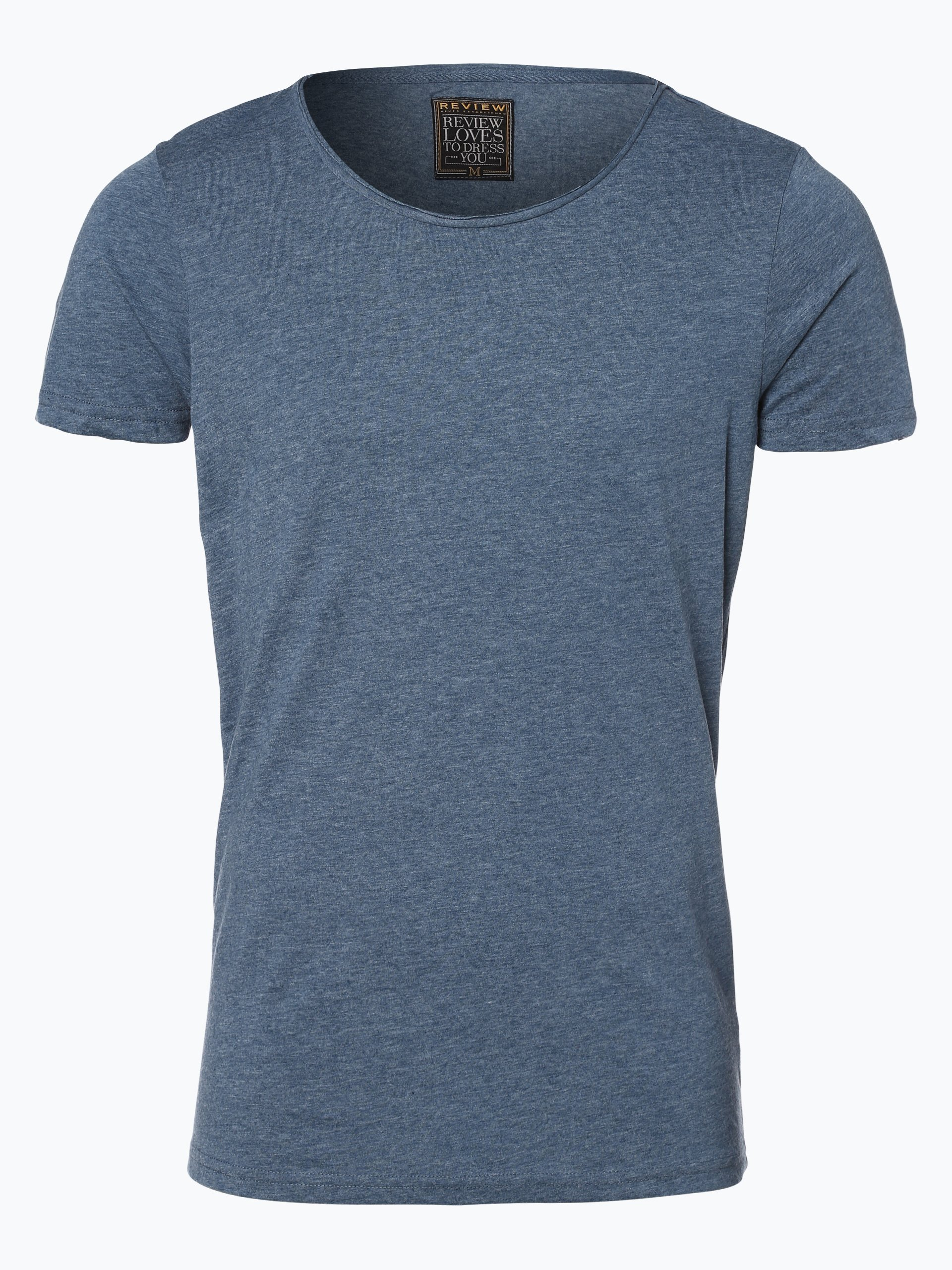 review herren t shirt denim uni online kaufen vangraaf com. Black Bedroom Furniture Sets. Home Design Ideas