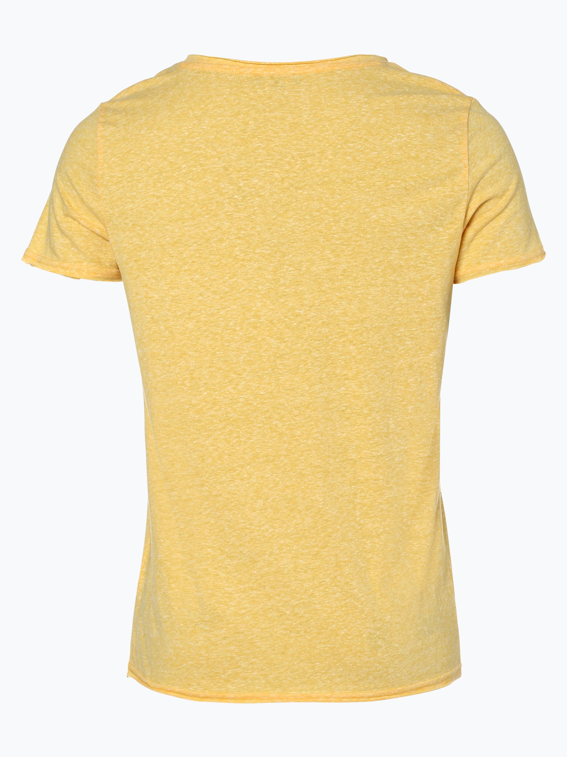 review herren t shirt gelb uni online kaufen vangraaf com. Black Bedroom Furniture Sets. Home Design Ideas