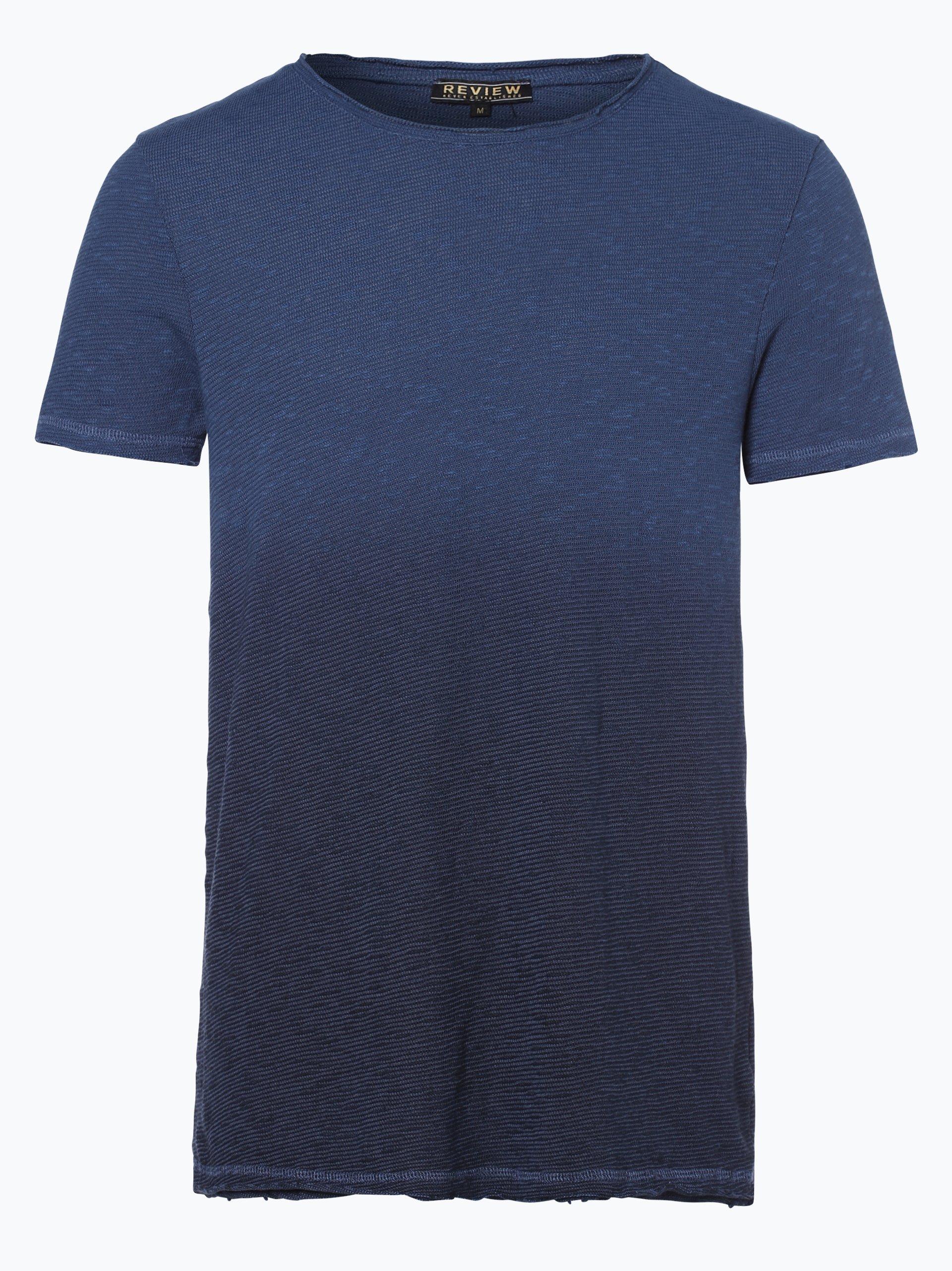 review herren t shirt marine uni online kaufen vangraaf com. Black Bedroom Furniture Sets. Home Design Ideas