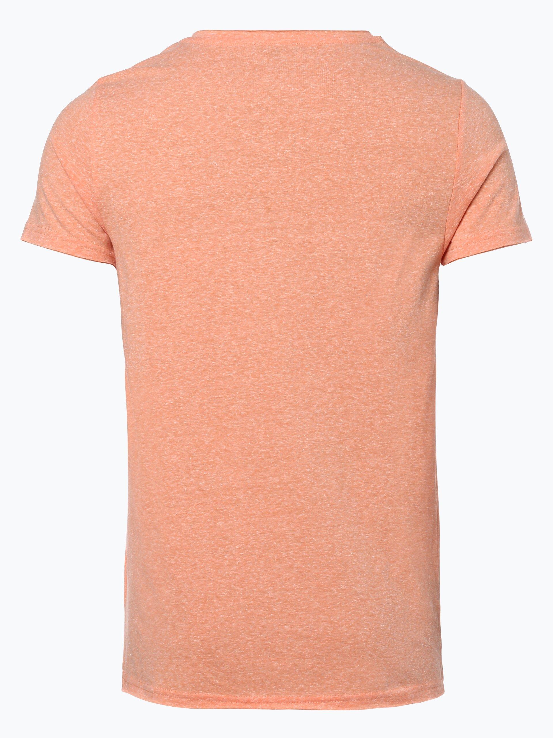 review herren t shirt orange gemustert online kaufen. Black Bedroom Furniture Sets. Home Design Ideas