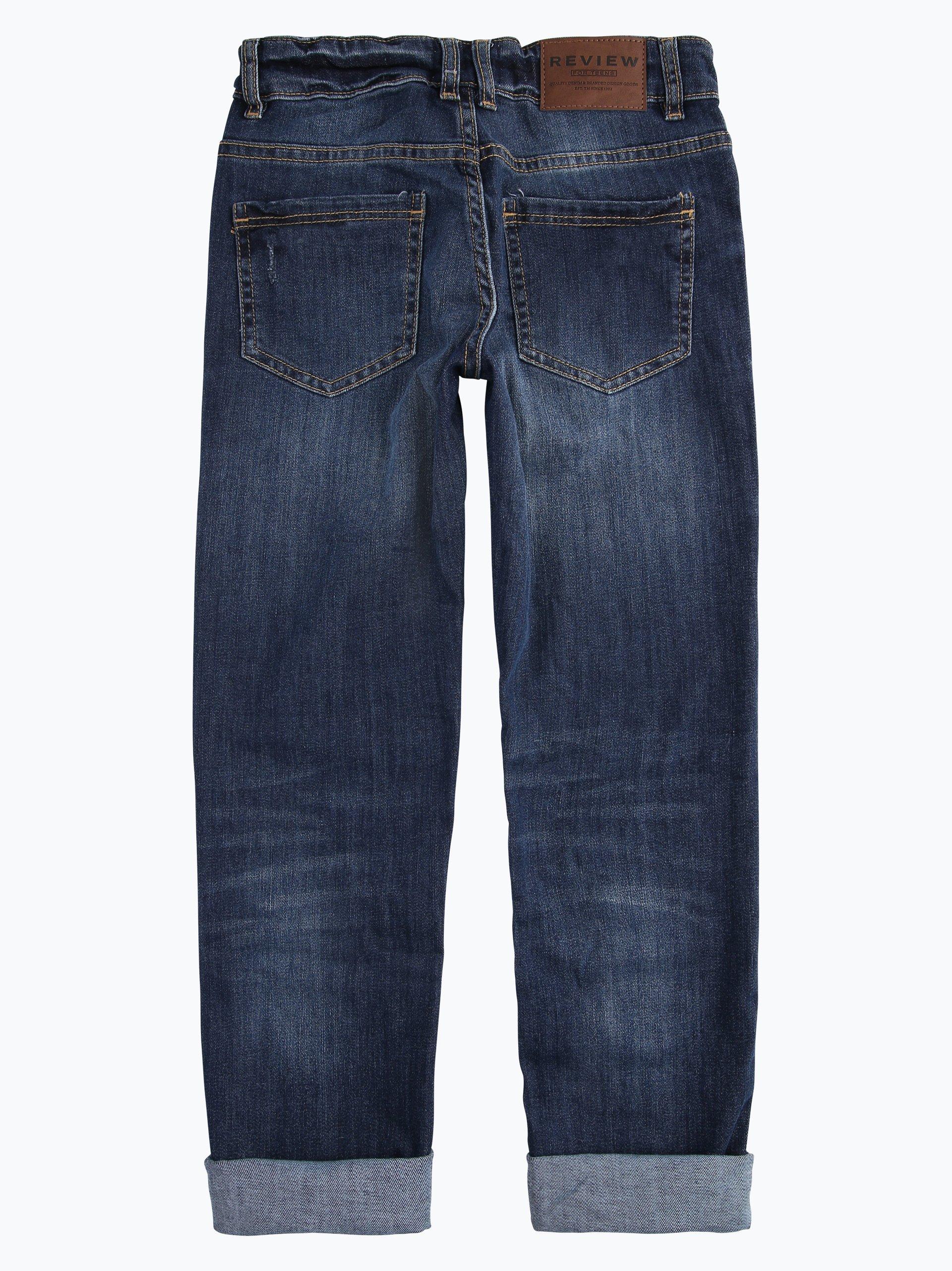 review jungen jeans regular fit indigo uni online kaufen. Black Bedroom Furniture Sets. Home Design Ideas