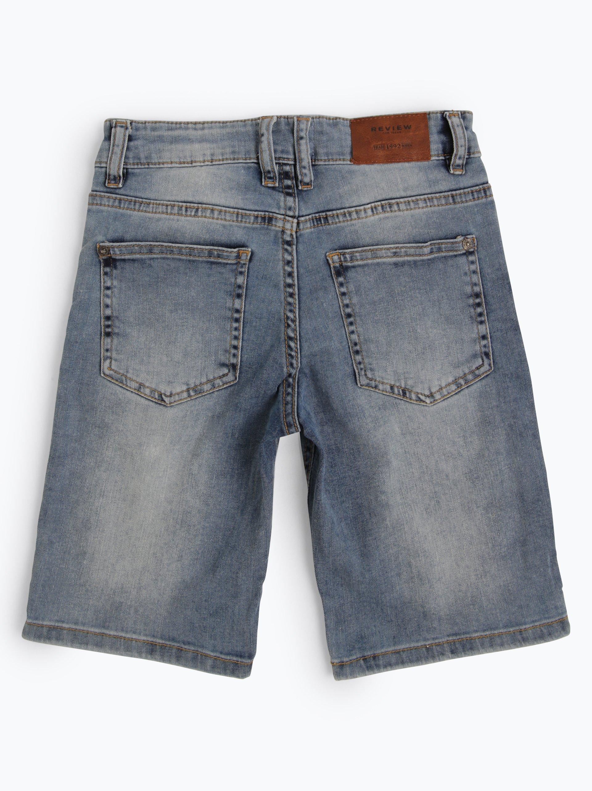 Review Jungen Jeansshorts
