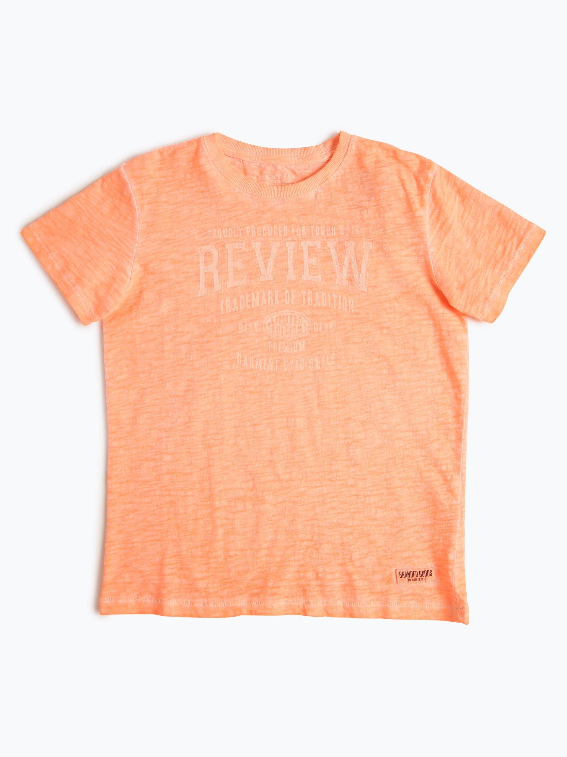 review jungen t shirt orange uni online kaufen peek und. Black Bedroom Furniture Sets. Home Design Ideas