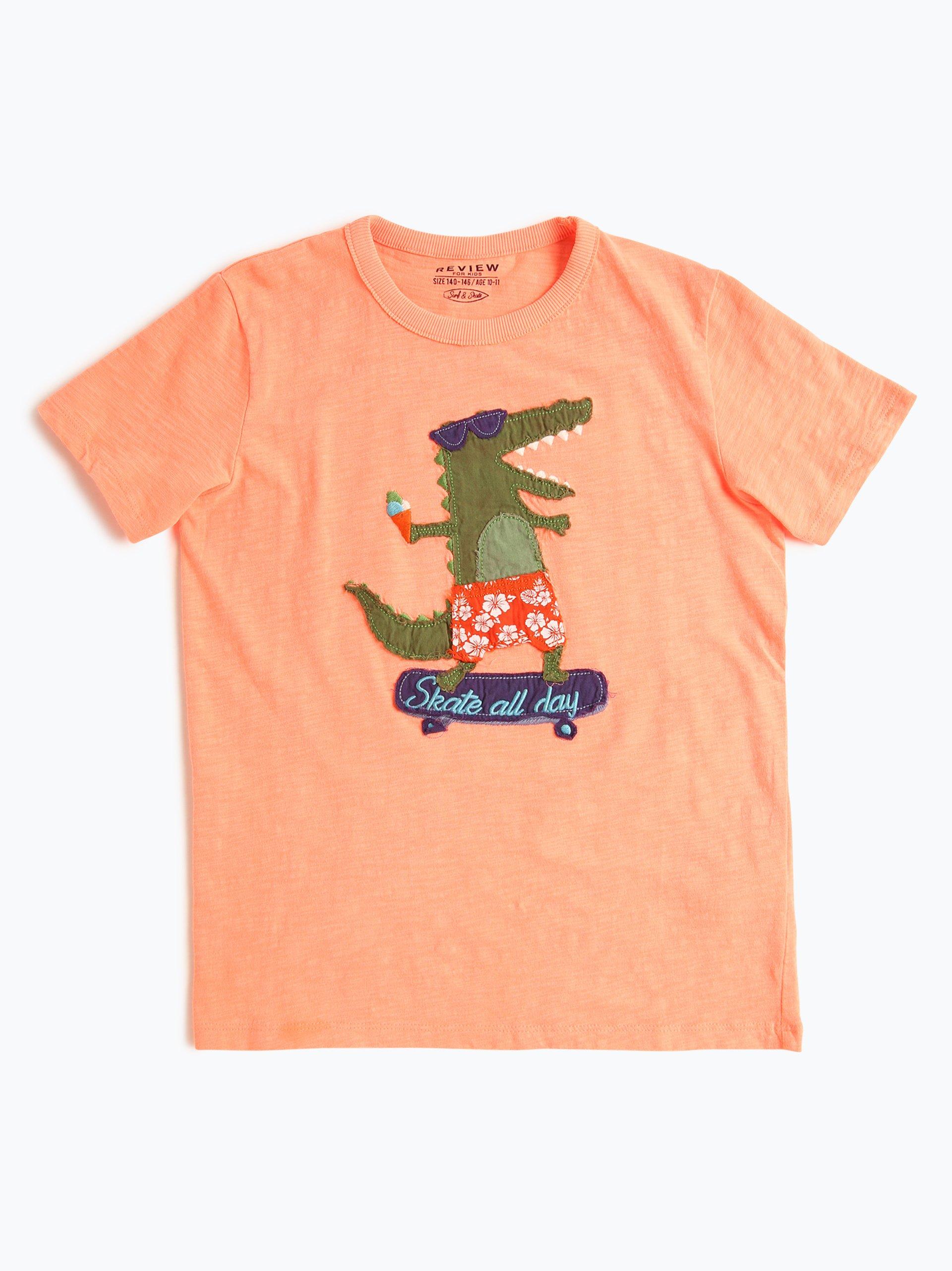 review jungen t shirt orange uni online kaufen vangraaf com. Black Bedroom Furniture Sets. Home Design Ideas