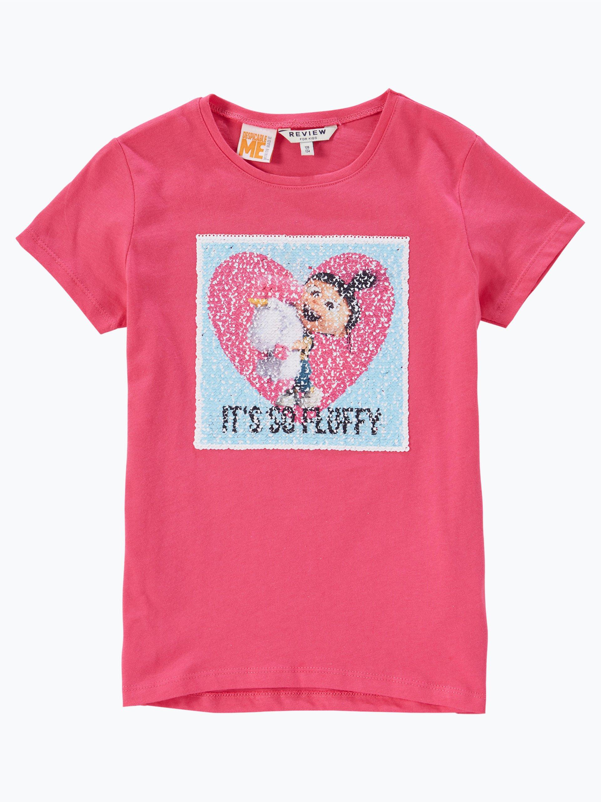review m dchen t shirt pink uni online kaufen peek und. Black Bedroom Furniture Sets. Home Design Ideas