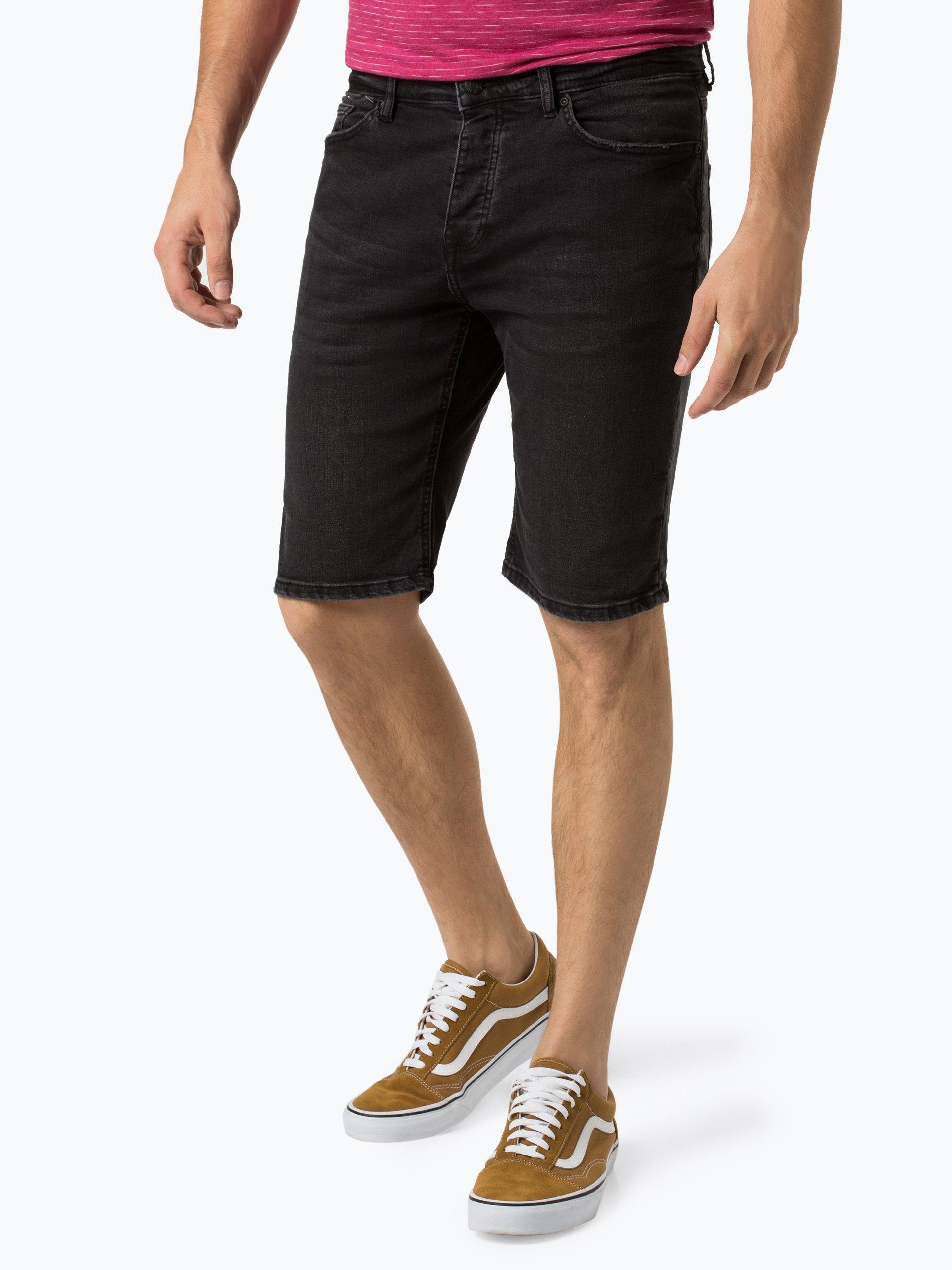 Review Męskie spodenki jeansowe