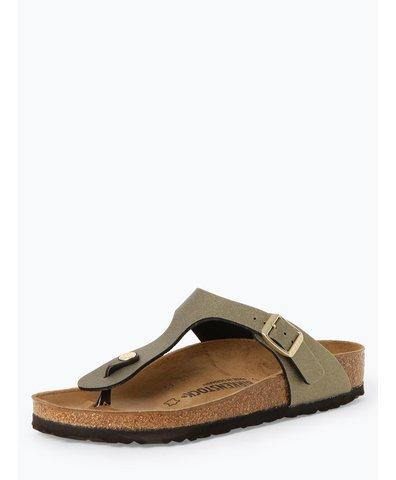 Sandały damskie z dodatkiem skóry – Gizeh BS