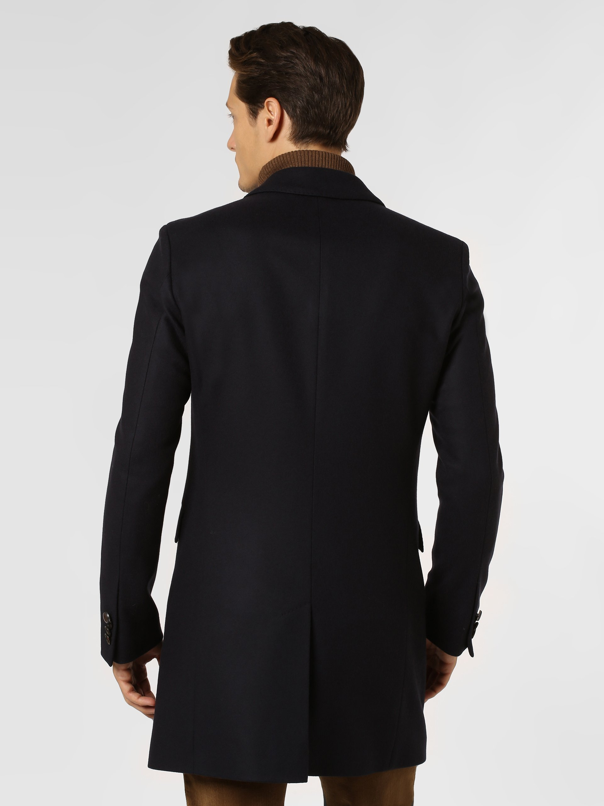 Savile Row Herren Mantel mit Cashmere-Anteil - Major