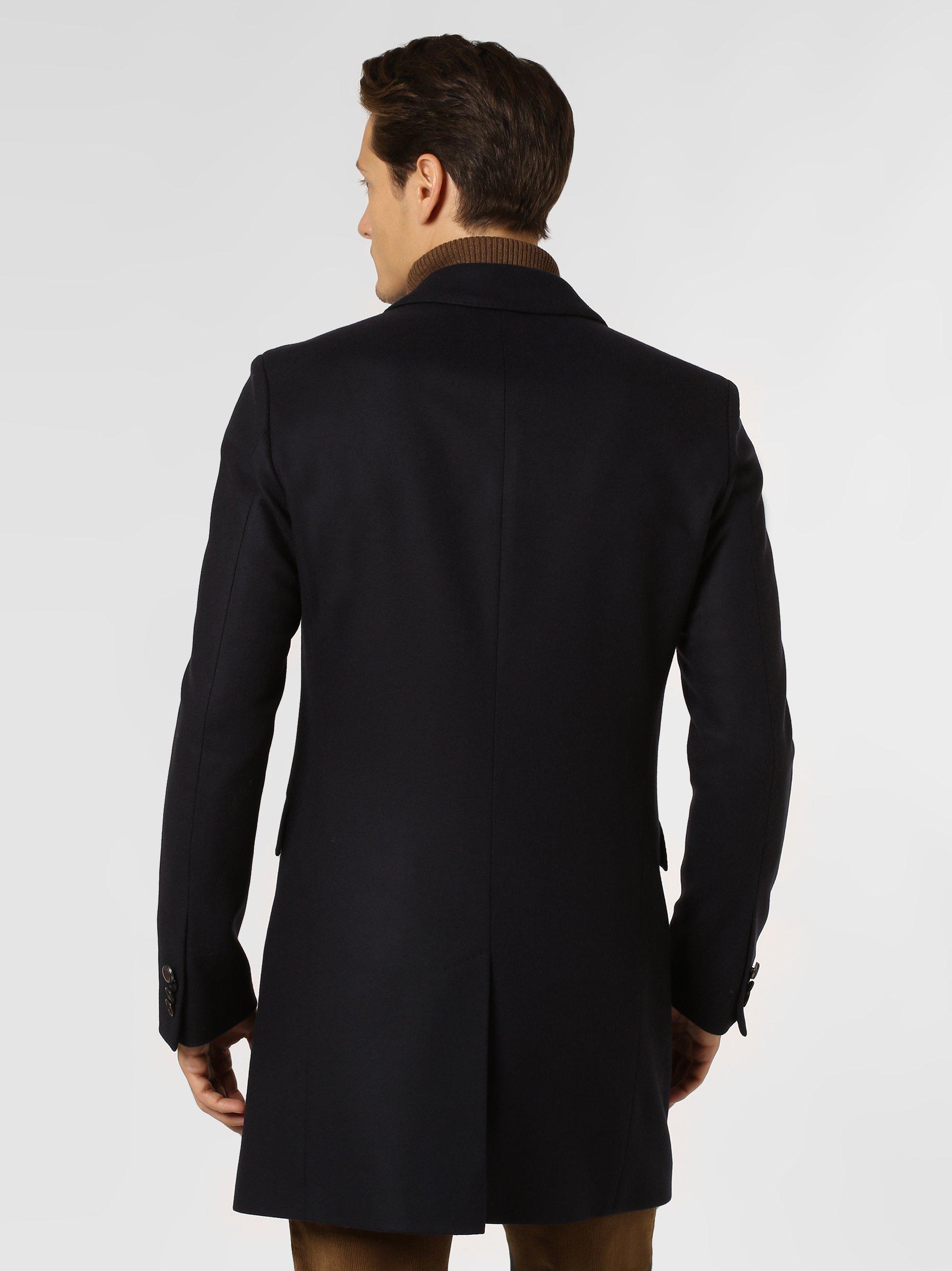 Savile Row Płaszcz męski z dodatkiem kaszmiru – Major