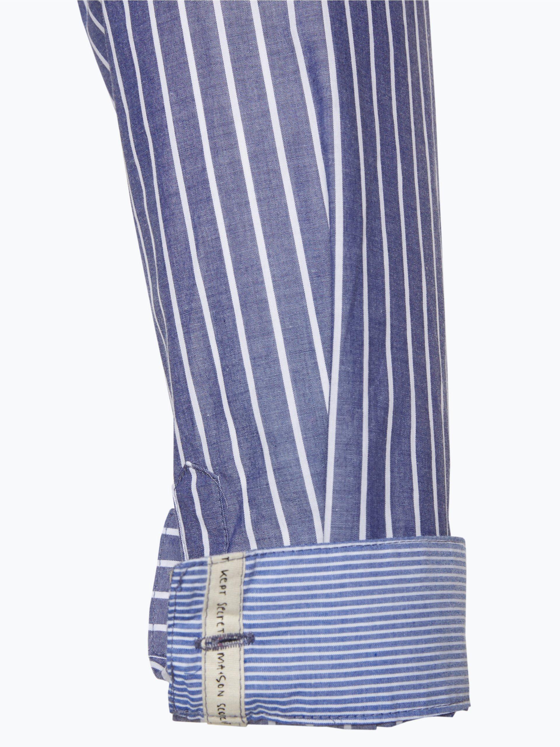 scotch soda damen bluse blau gestreift online kaufen. Black Bedroom Furniture Sets. Home Design Ideas