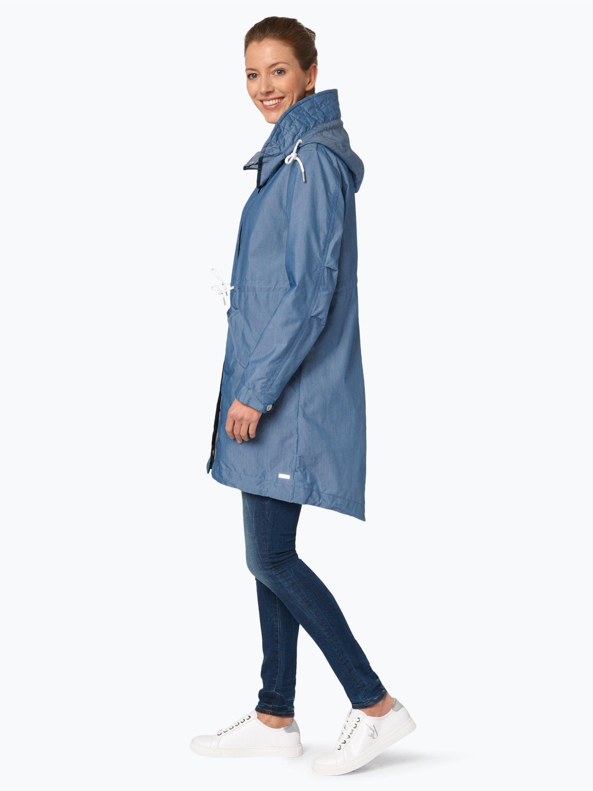 scotch soda damen mantel blau uni online kaufen. Black Bedroom Furniture Sets. Home Design Ideas