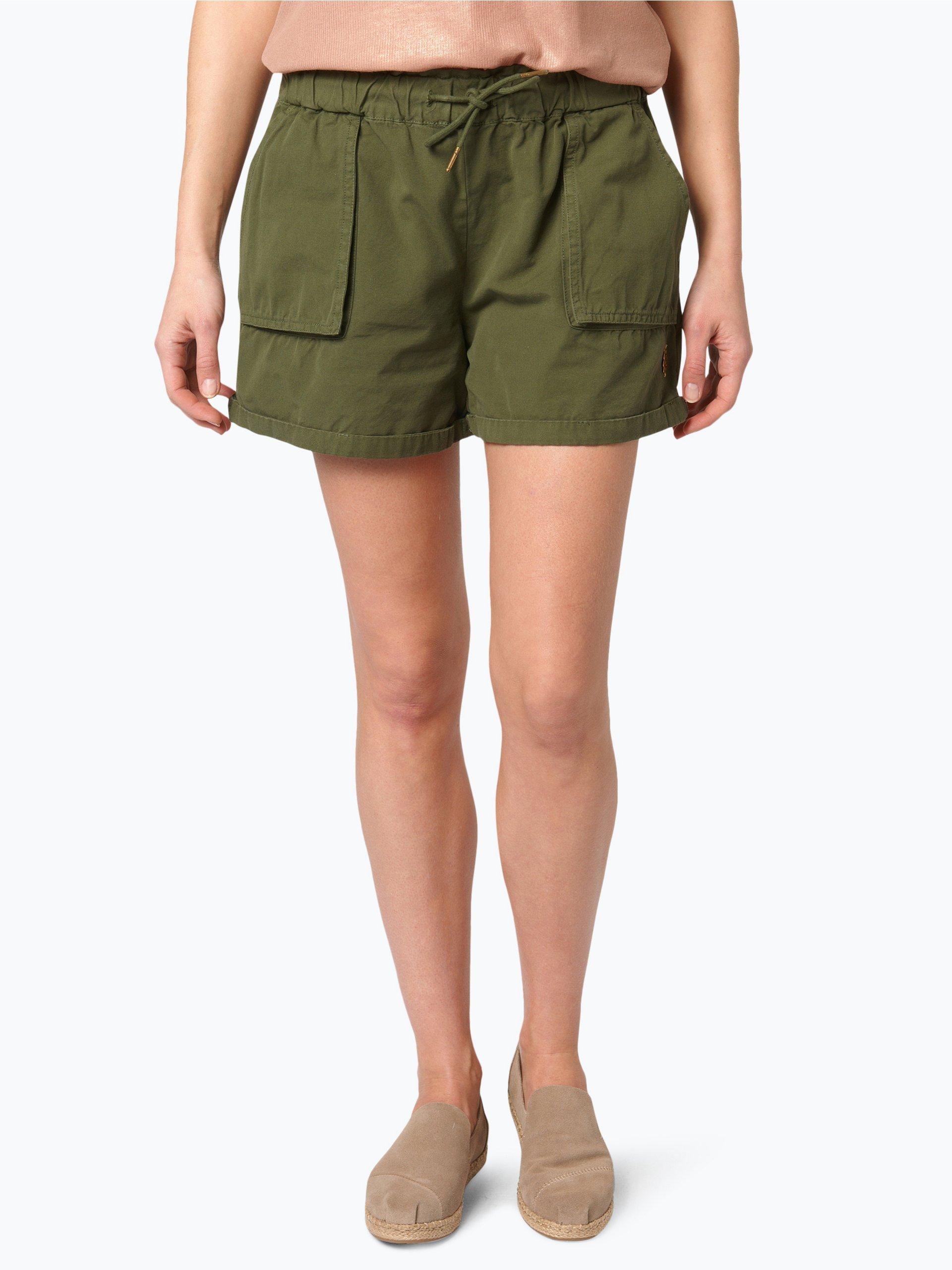 scotch soda damen shorts oliv uni online kaufen peek. Black Bedroom Furniture Sets. Home Design Ideas