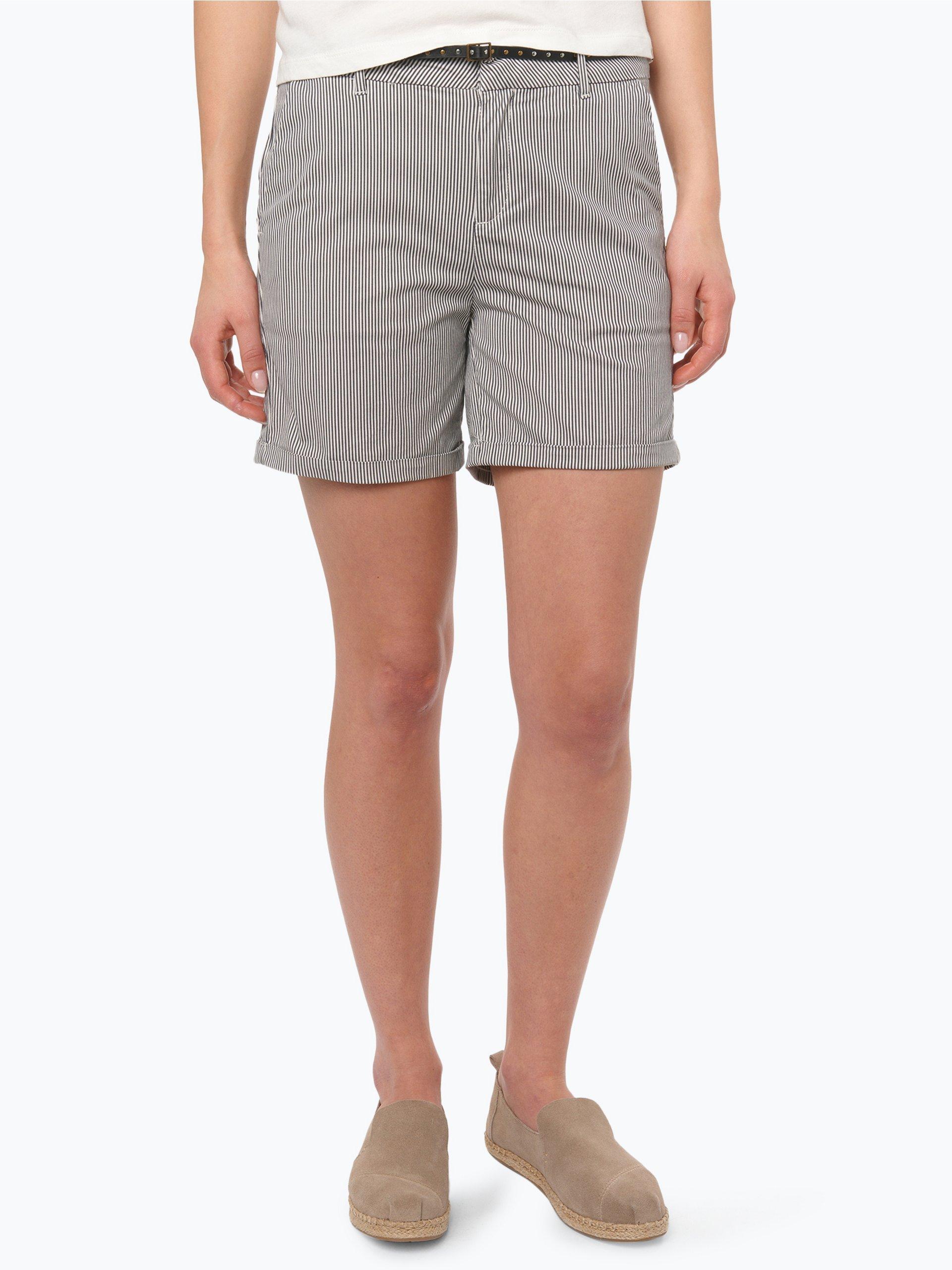 scotch soda damen shorts schwarz gestreift online kaufen. Black Bedroom Furniture Sets. Home Design Ideas