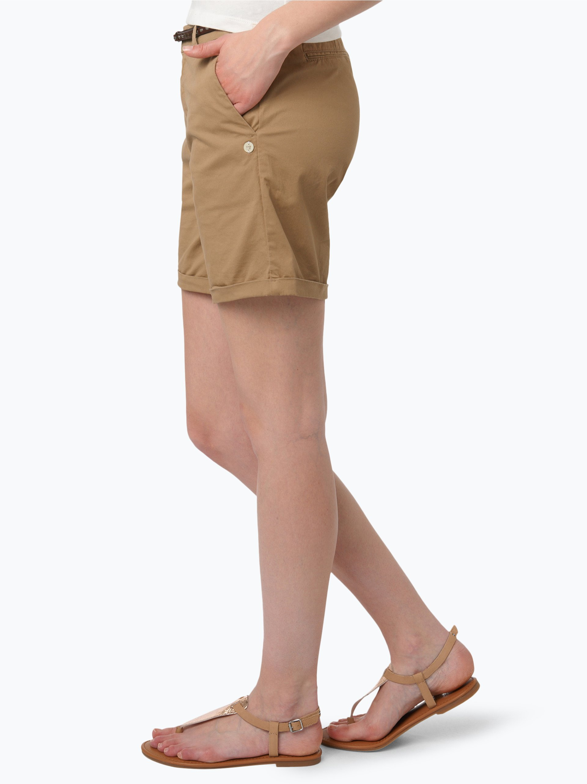 scotch soda damen shorts camel uni online kaufen peek. Black Bedroom Furniture Sets. Home Design Ideas