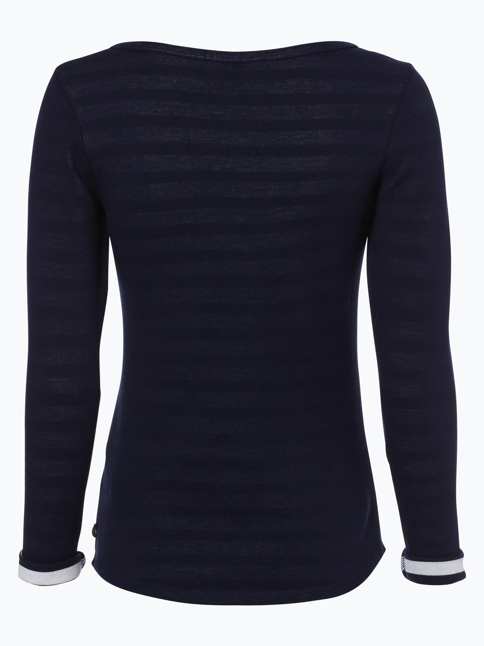 scotch soda damen sweatshirt marine uni online kaufen. Black Bedroom Furniture Sets. Home Design Ideas