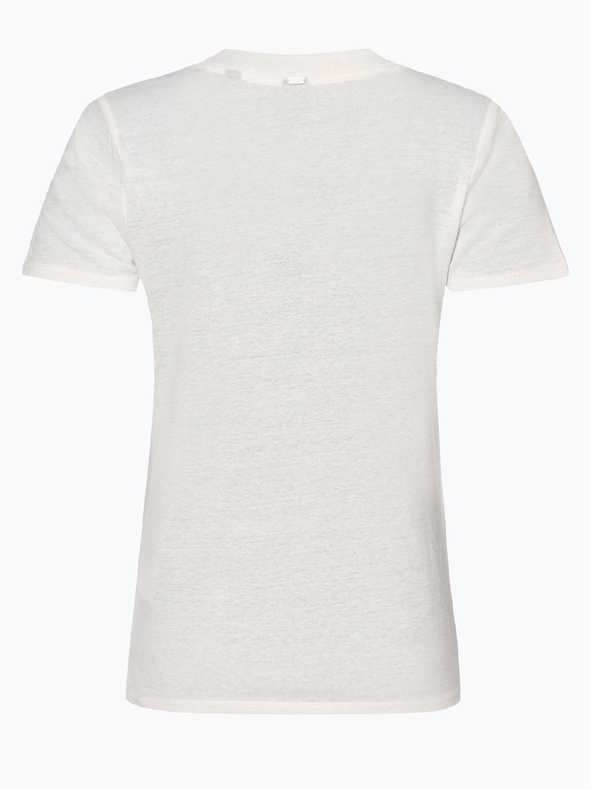 Scotch & Soda Damen T-Shirt mit Leinen-Anteil