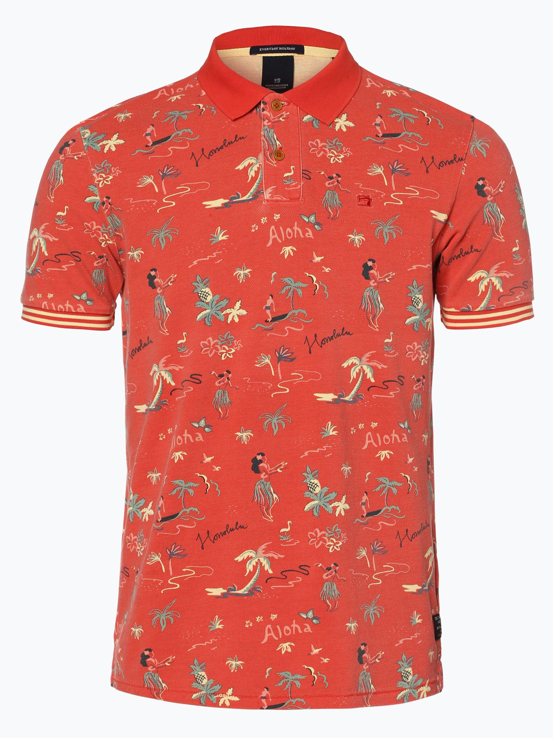Scotch & Soda Męska koszulka polo
