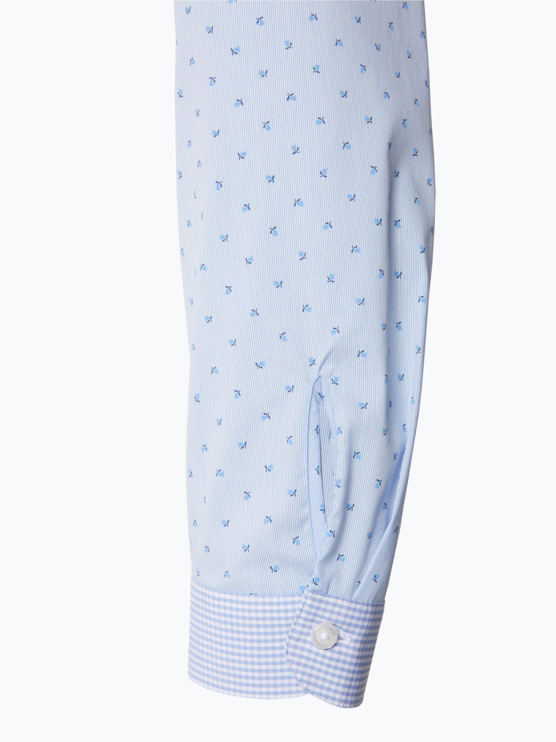 seidensticker schwarze rose damen bluse hellblau blau gestreift online kaufen vangraaf com. Black Bedroom Furniture Sets. Home Design Ideas