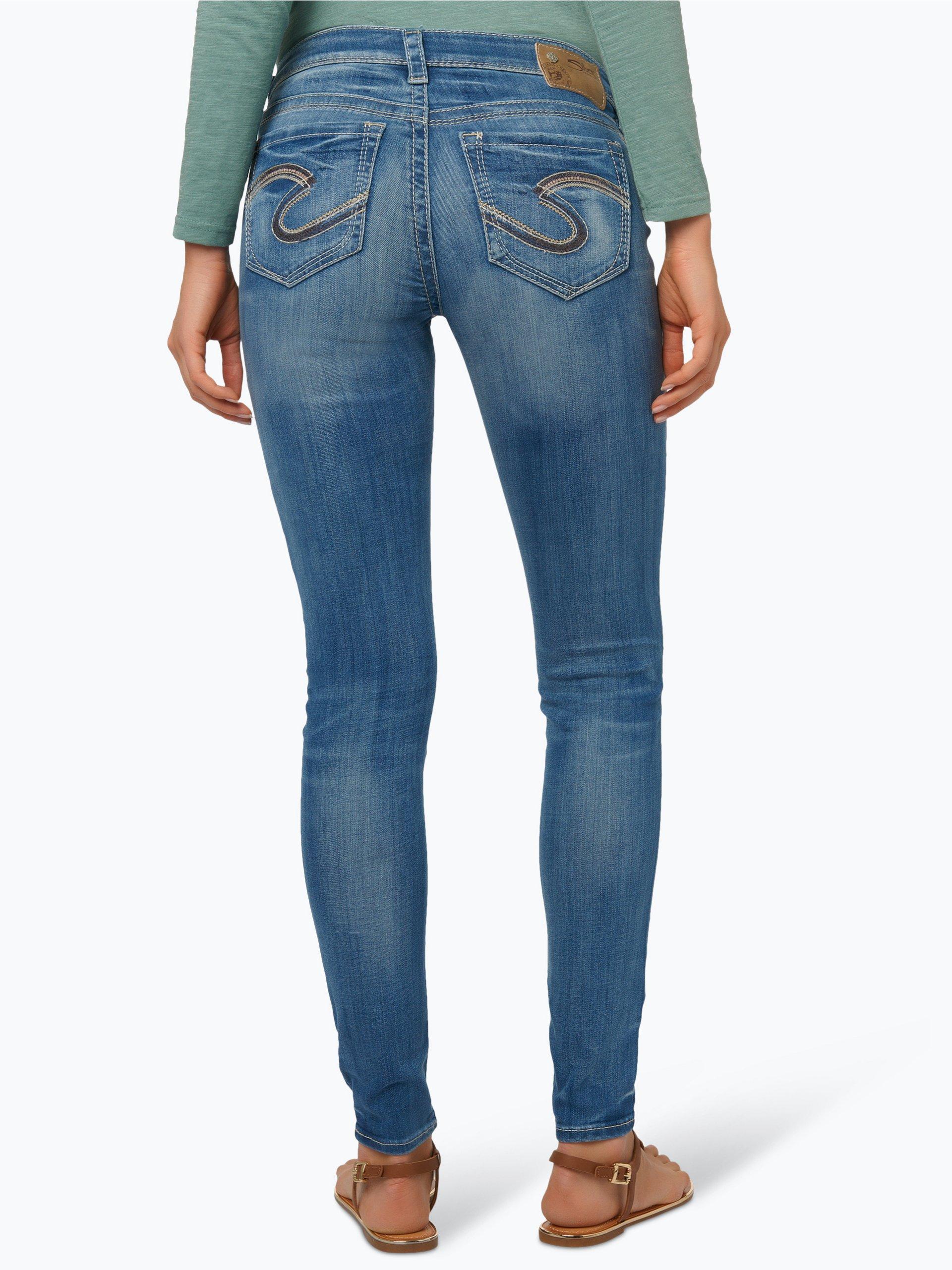 silver jeans damen jeans suki light stone uni online kaufen peek und cloppenburg de. Black Bedroom Furniture Sets. Home Design Ideas