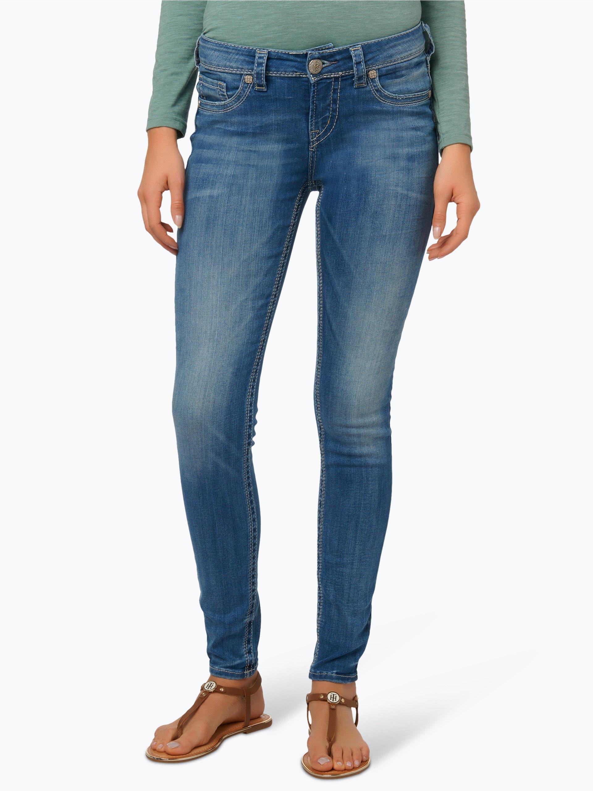 silver jeans damen jeans suki light stone uni online kaufen vangraaf com. Black Bedroom Furniture Sets. Home Design Ideas