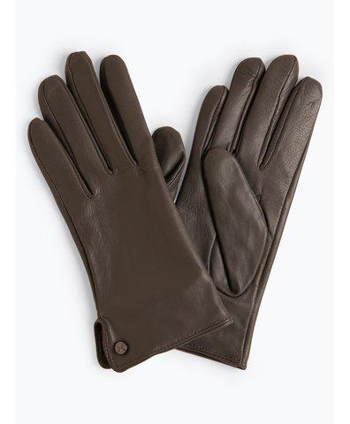 Skórzane rękawiczki damskie