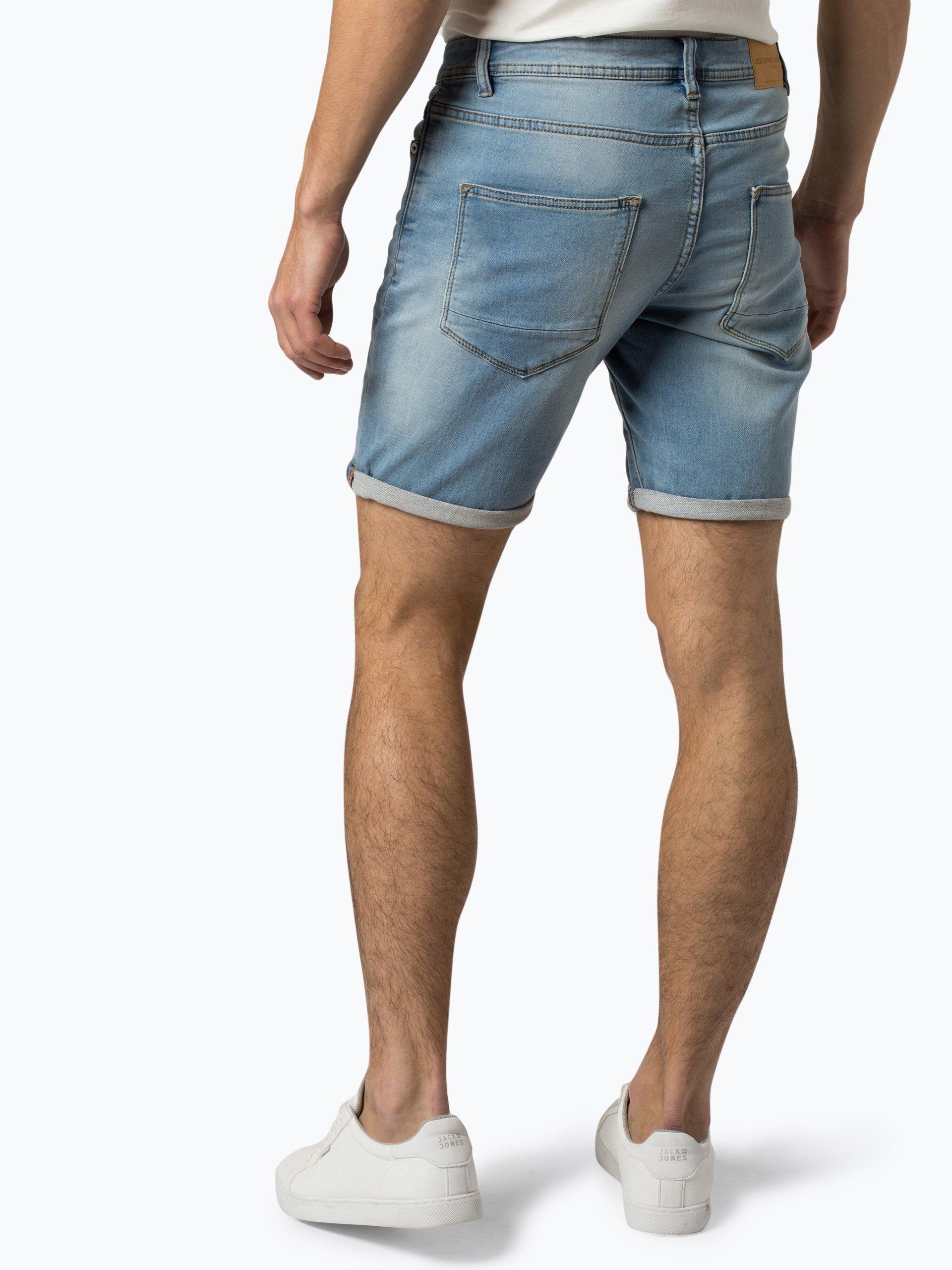 Solid Herren Jeansshorts - Ryder