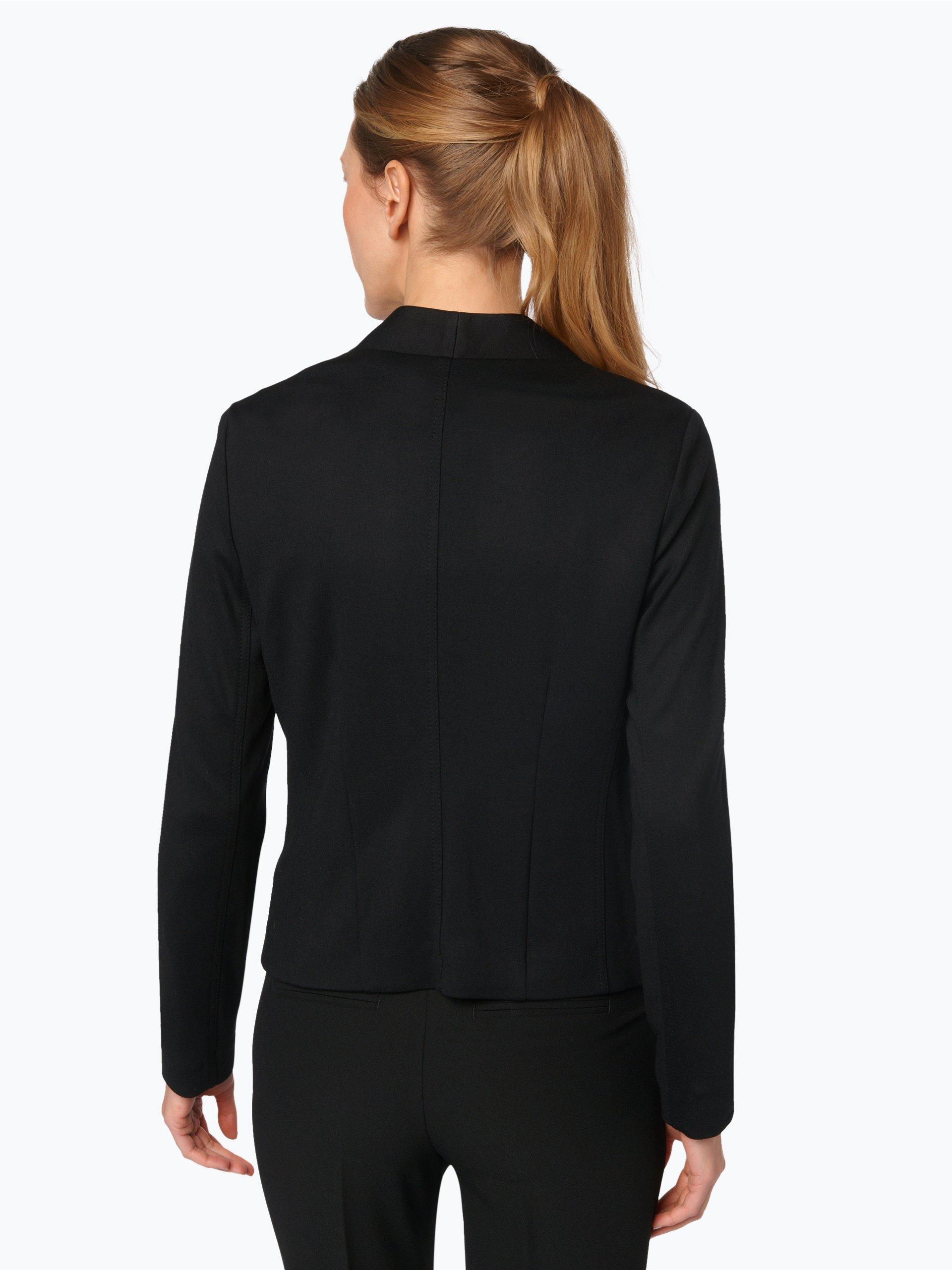 s oliver black label damen blazer schwarz uni online kaufen peek und cloppenburg de. Black Bedroom Furniture Sets. Home Design Ideas