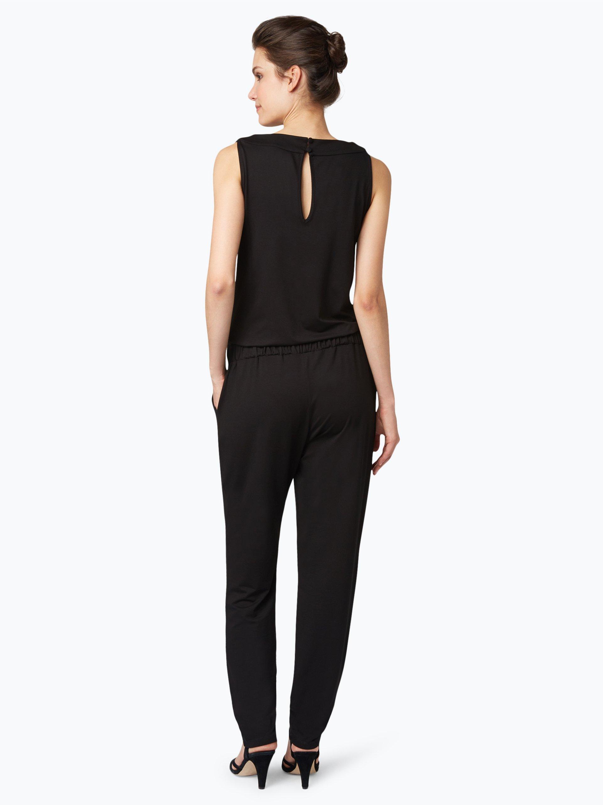s oliver black label damen jumpsuit schwarz uni online kaufen vangraaf com. Black Bedroom Furniture Sets. Home Design Ideas