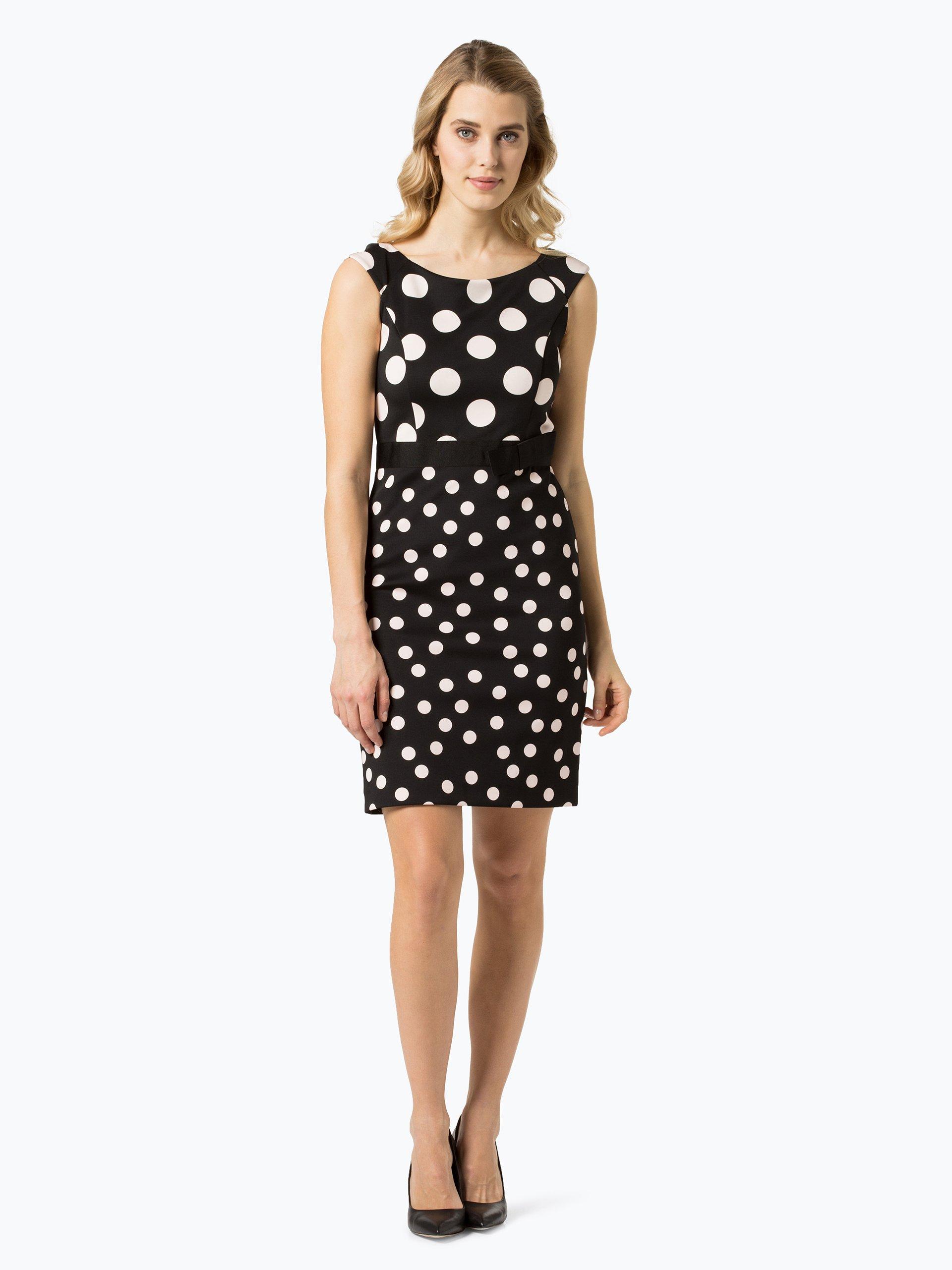 s oliver black label damen kleid schwarz rosa gepunktet online kaufen peek und cloppenburg de. Black Bedroom Furniture Sets. Home Design Ideas
