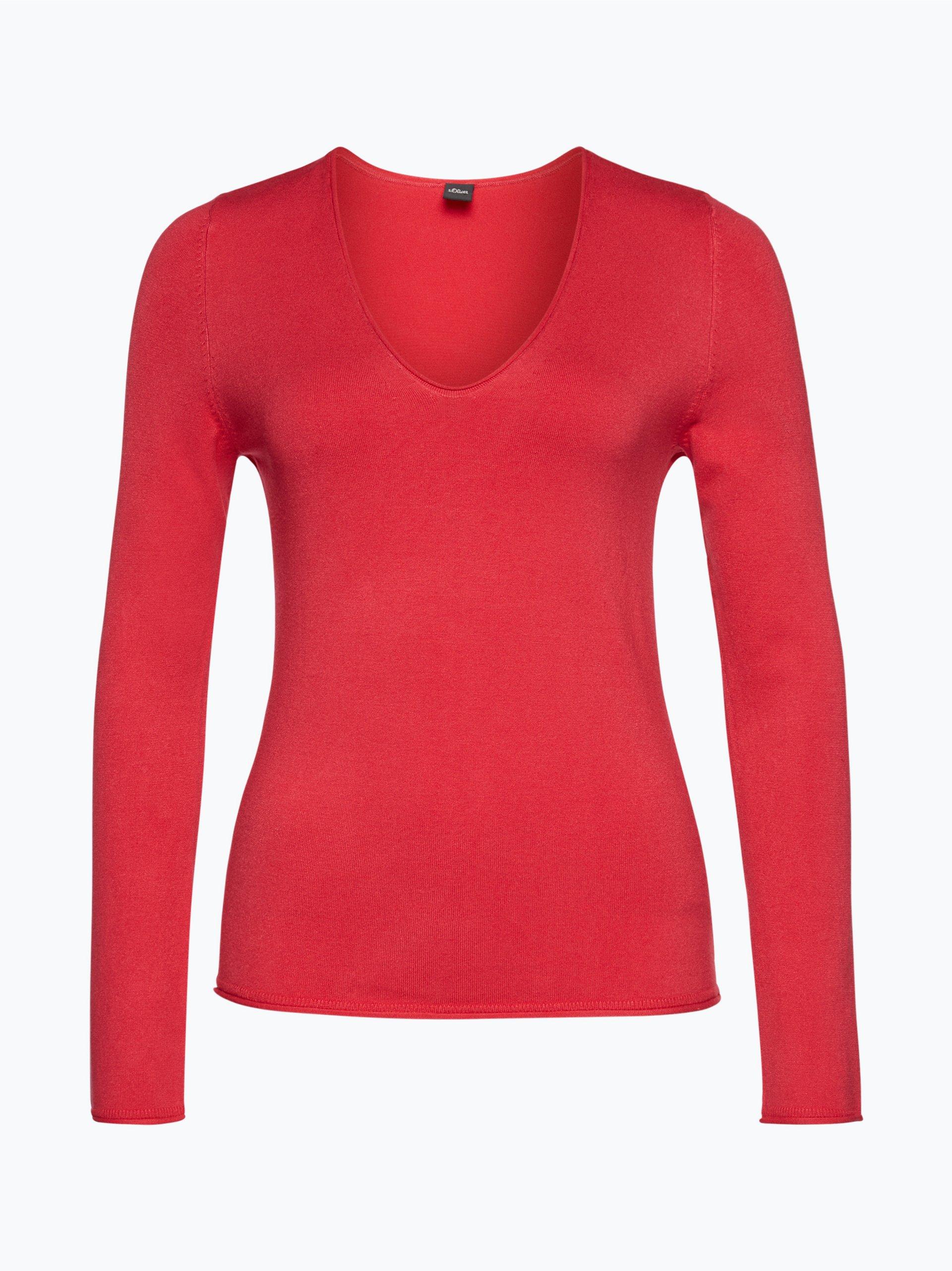 s oliver black label damen pullover rosa uni online kaufen. Black Bedroom Furniture Sets. Home Design Ideas