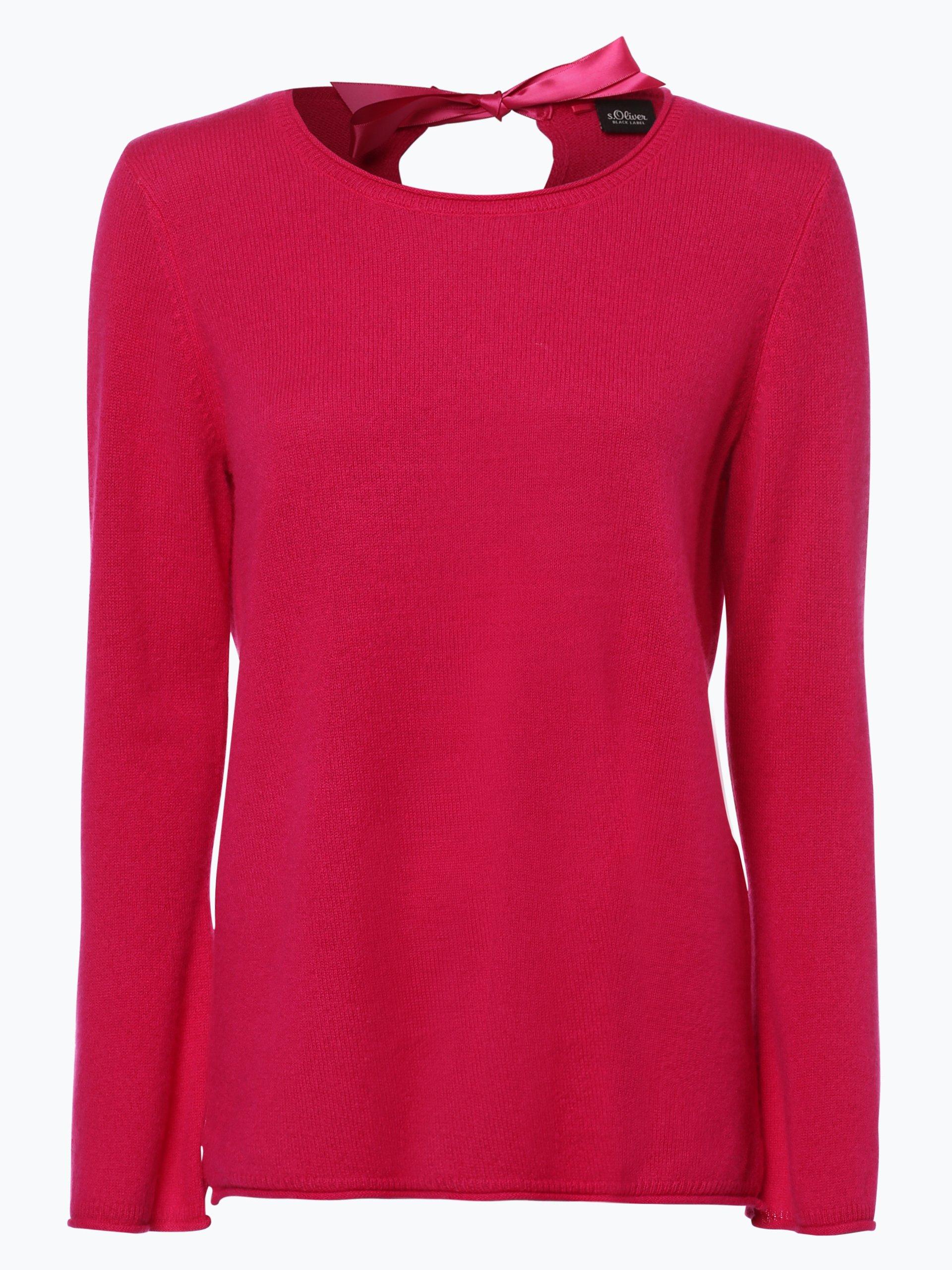 s oliver black label damen pure cashmere pullover pink uni online kaufen peek und cloppenburg de. Black Bedroom Furniture Sets. Home Design Ideas
