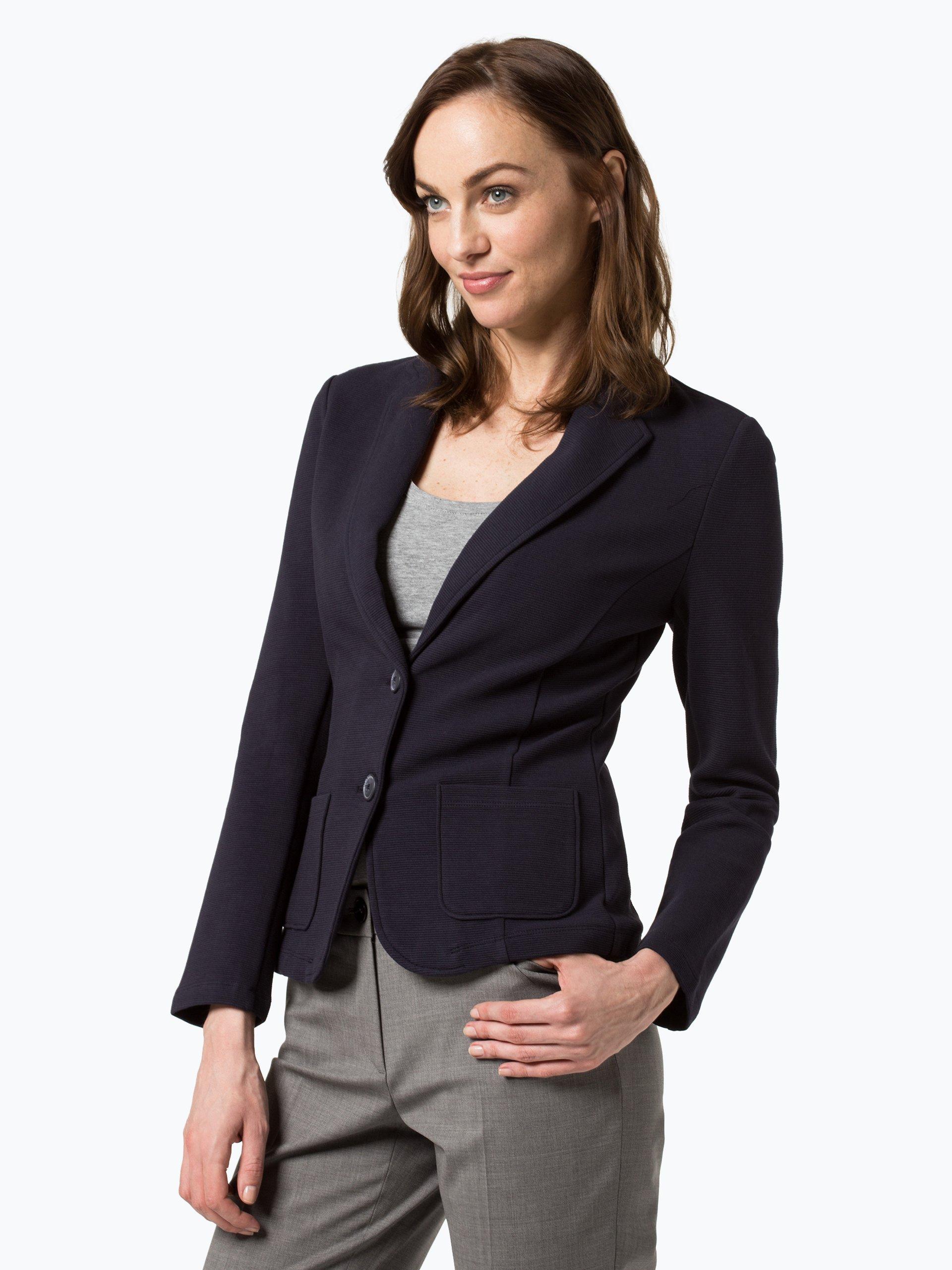 s oliver casual damen blazer marine uni online kaufen vangraaf com