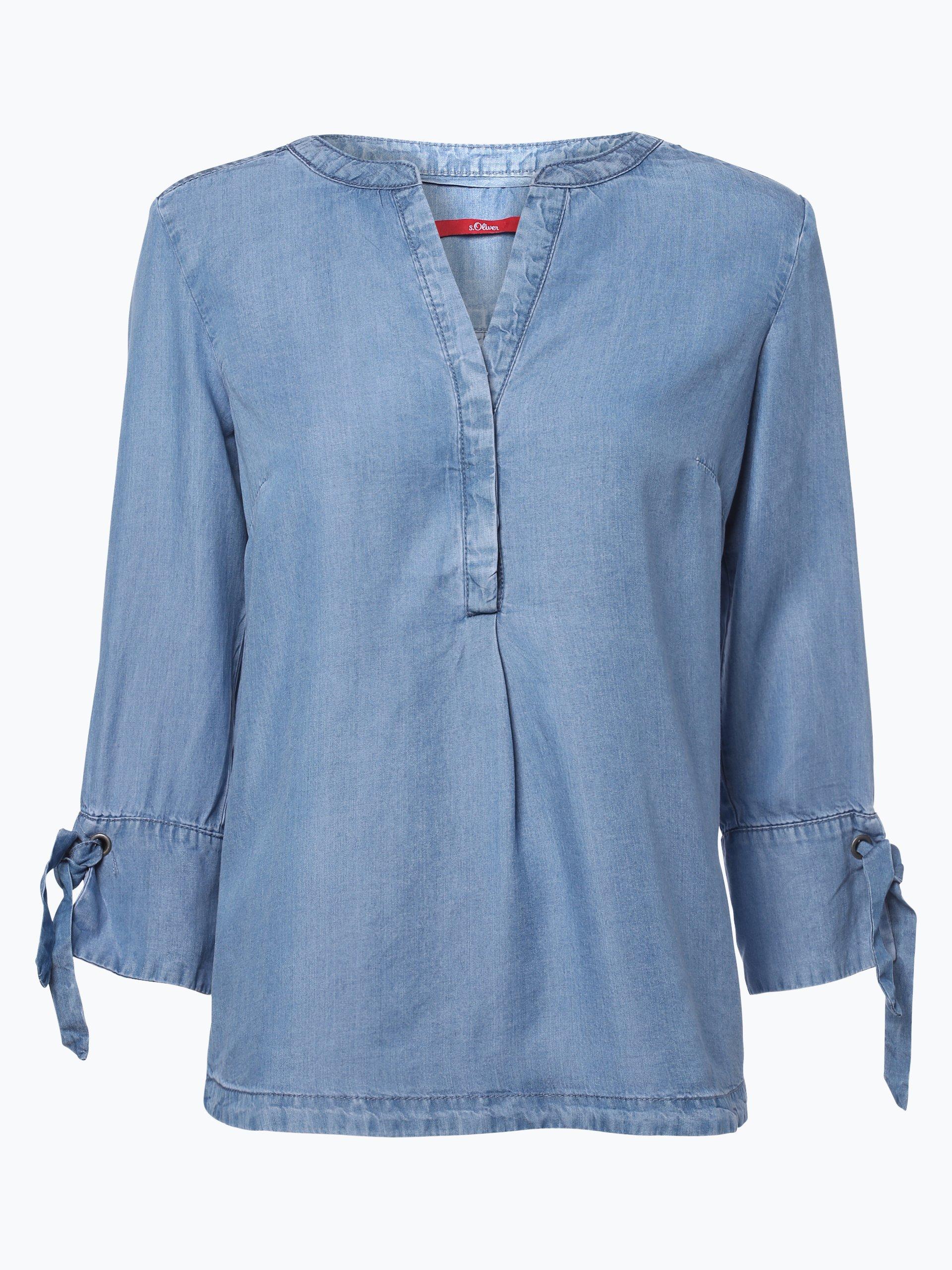 s.Oliver Casual Damen Jeansbluse online kaufen | VANGRAAF.COM