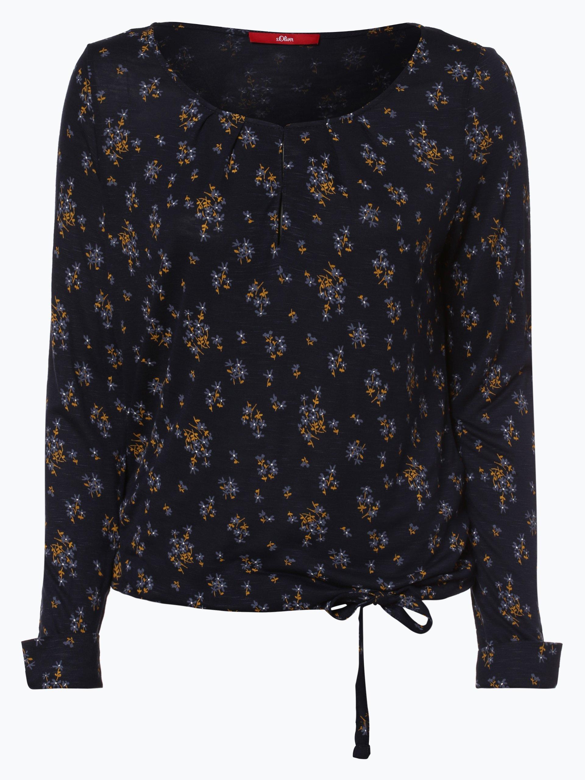 s oliver casual damen langarmshirt online kaufen peek. Black Bedroom Furniture Sets. Home Design Ideas