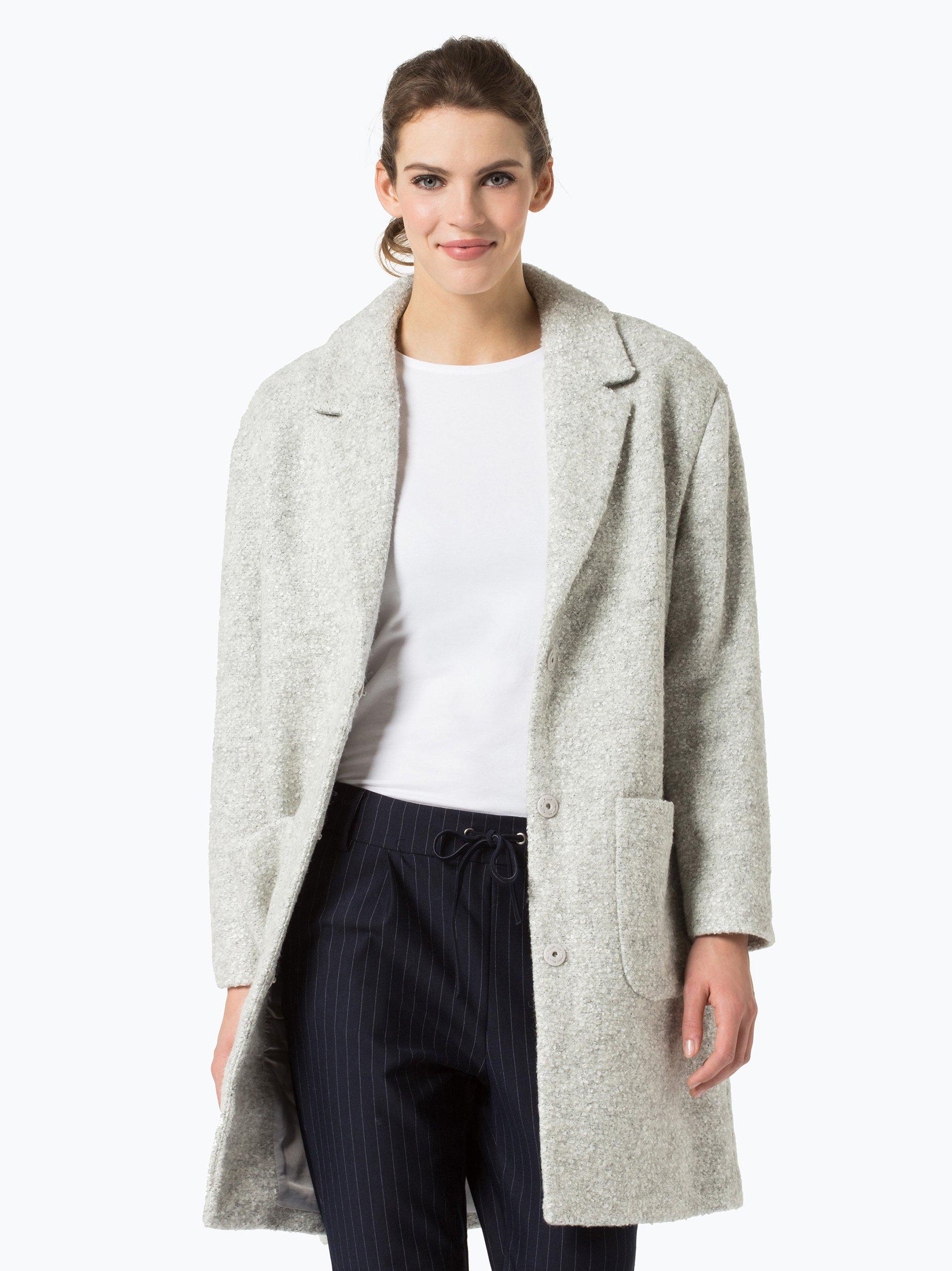 oliver casual damen mantel silber uni online kaufen vangraaf com. Black Bedroom Furniture Sets. Home Design Ideas