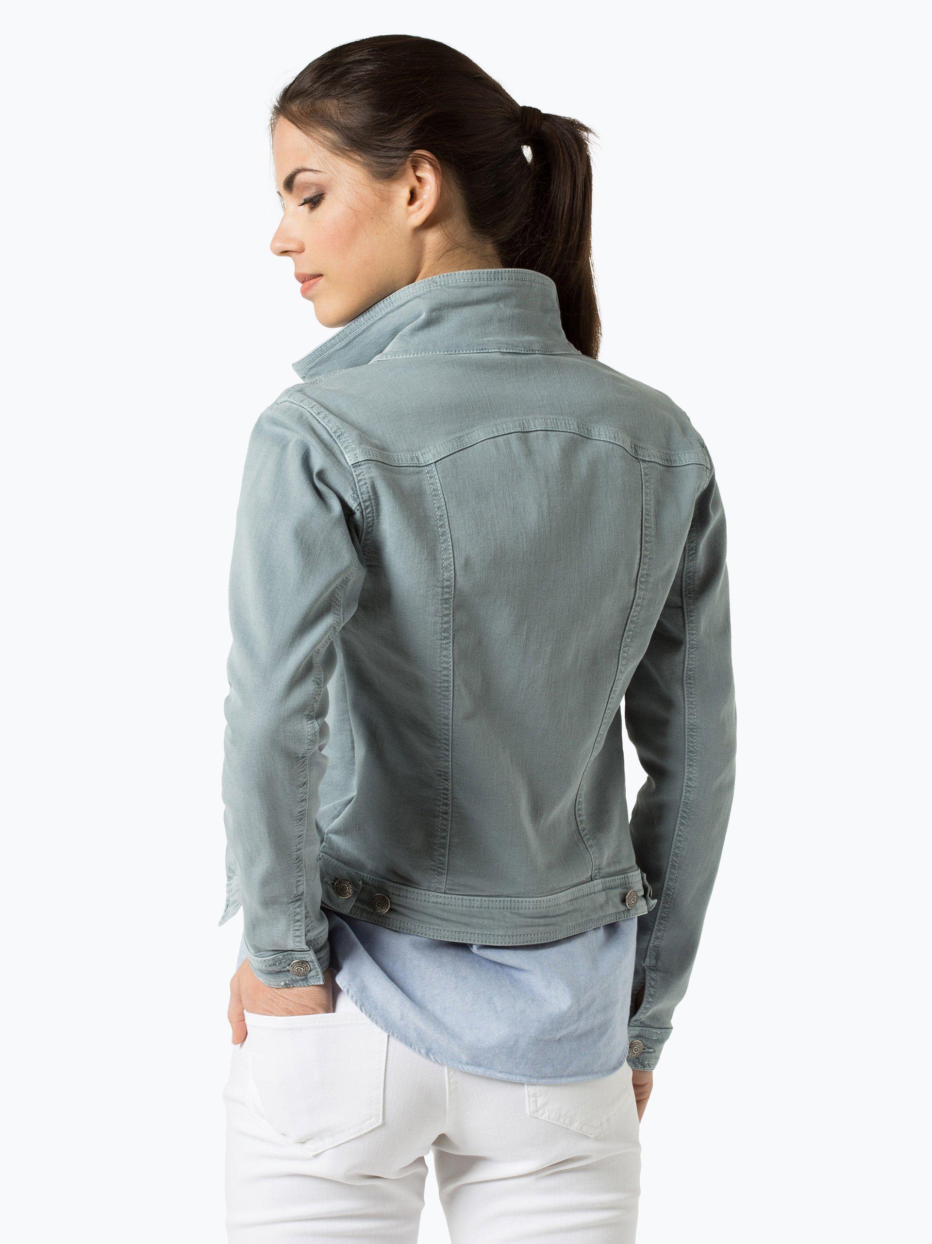 soyaconcept damen jeansjacke hellblau uni online kaufen vangraaf com. Black Bedroom Furniture Sets. Home Design Ideas
