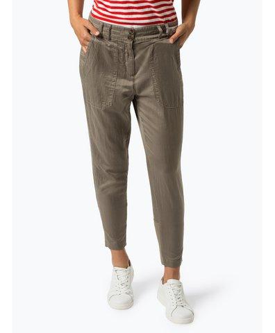 Spodnie damskie z dodatkiem jedwabiu