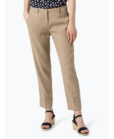 Spodnie damskie z dodatkiem lnu – Krystal